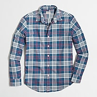 Factory midweight flannel shirt