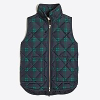 Image 2 for Printed quilted puffer vest