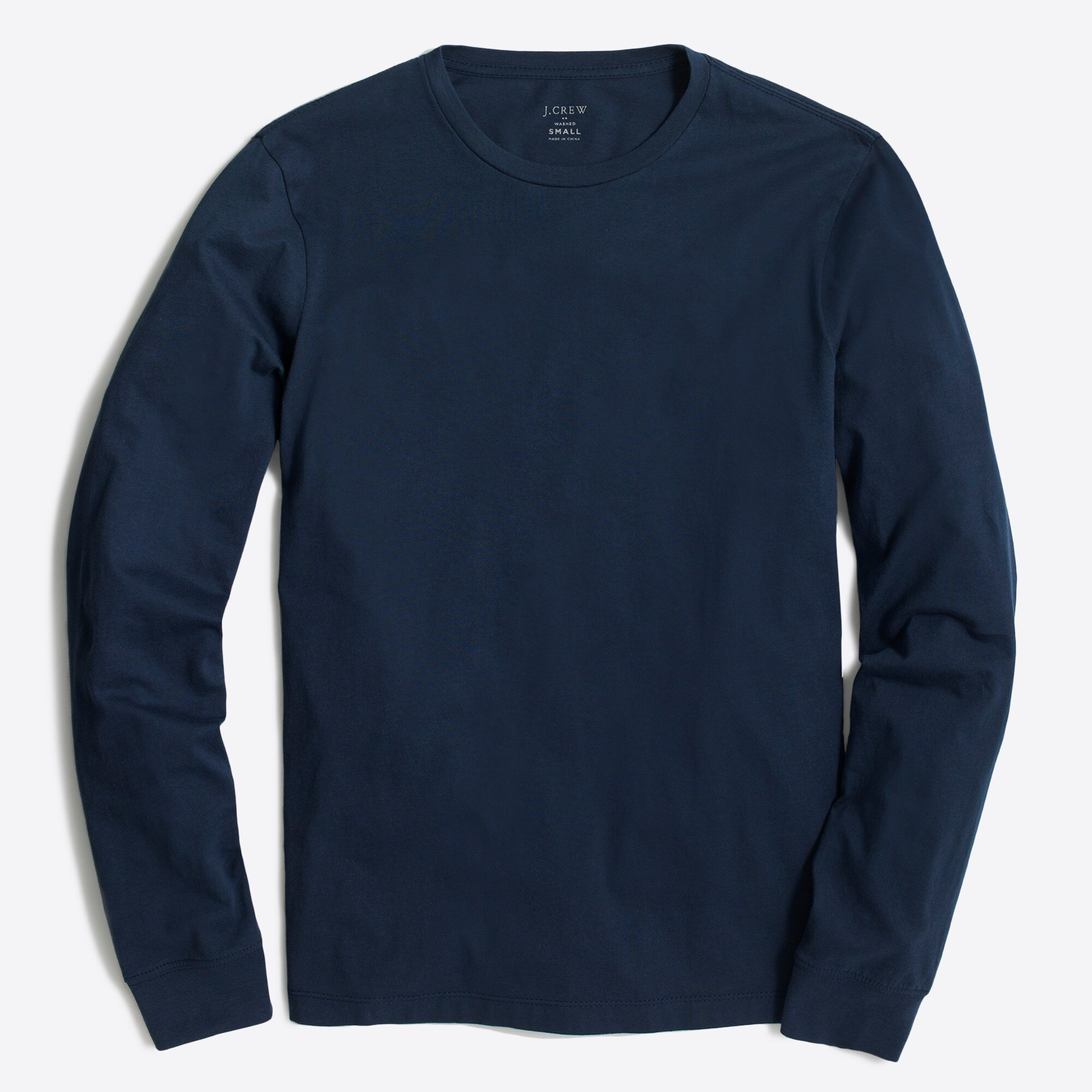 factory mens J. Crew Mercantile Long-sleeve T-shirt