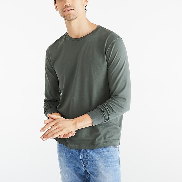 j.crew factory: long-sleeve t-shirt