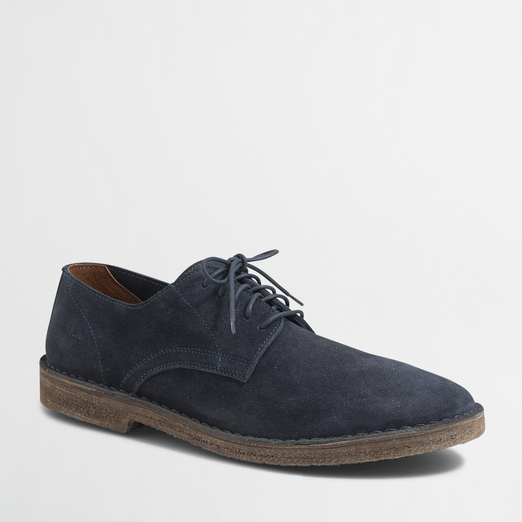 calvert suede oxfords : factorymen shoes