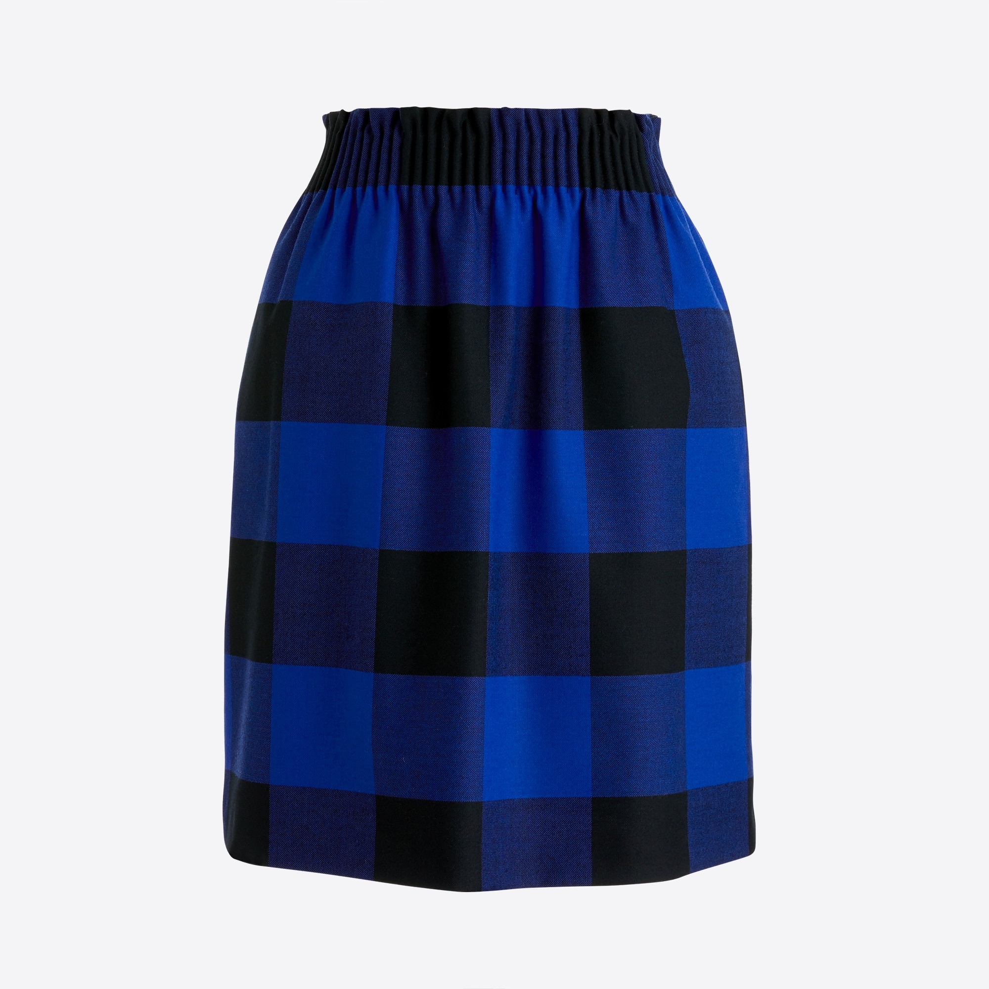 Image 2 for Wool sidewalk skirt in plaid