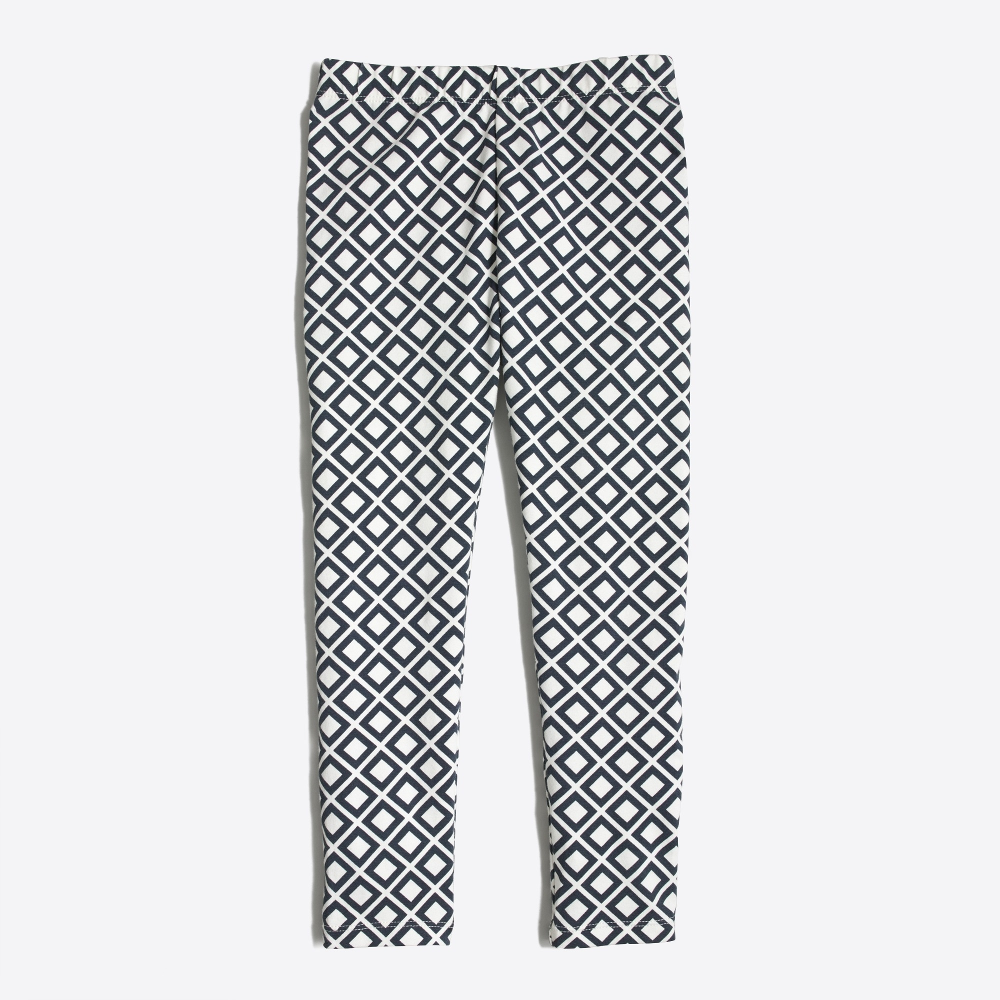 girls' leggings in diamond : factorygirls full length
