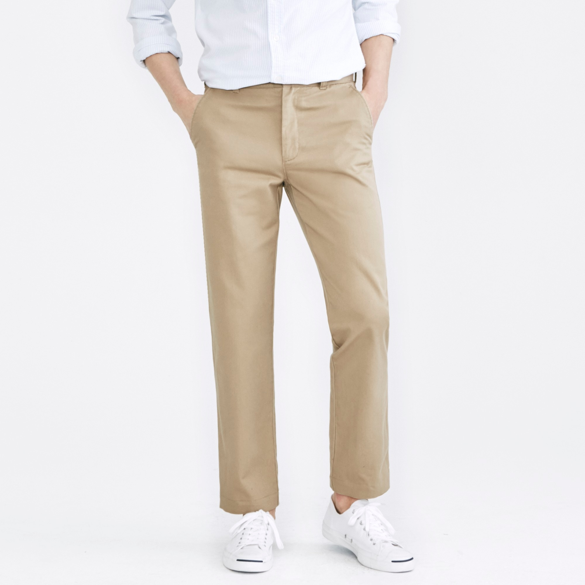 Bleecker athletic-fit broken-in chino factorymen online exclusives c