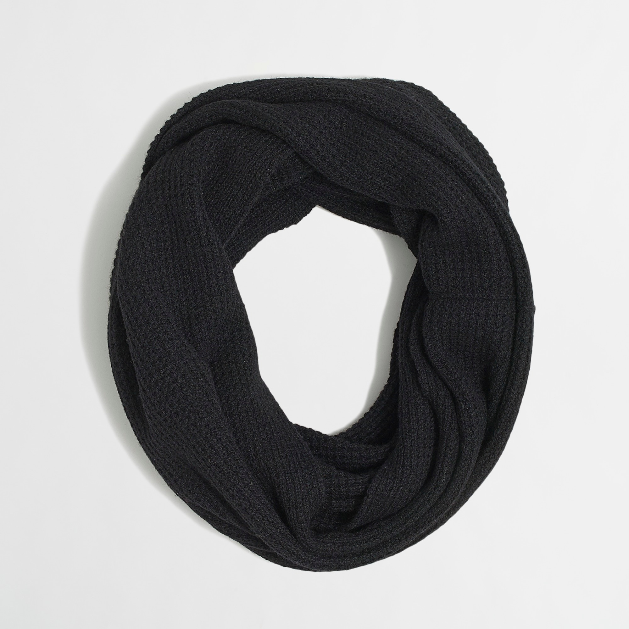 waffle infinity scarf -  accessories