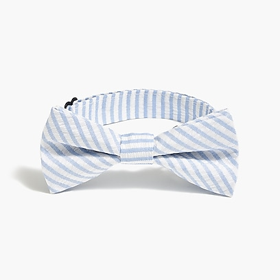 factory boys Boys' seersucker bow tie