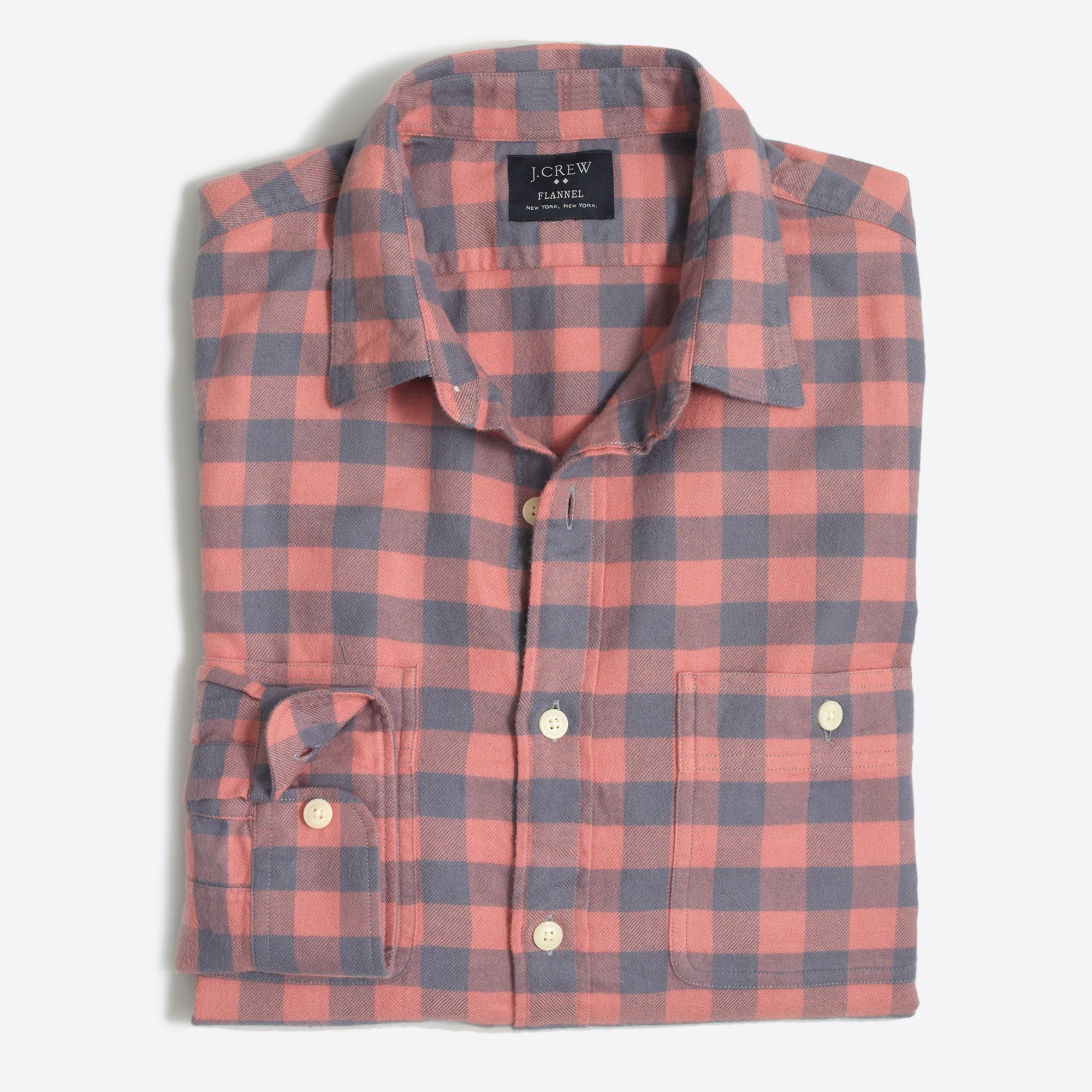 men's moex slim plaid flannel shirt