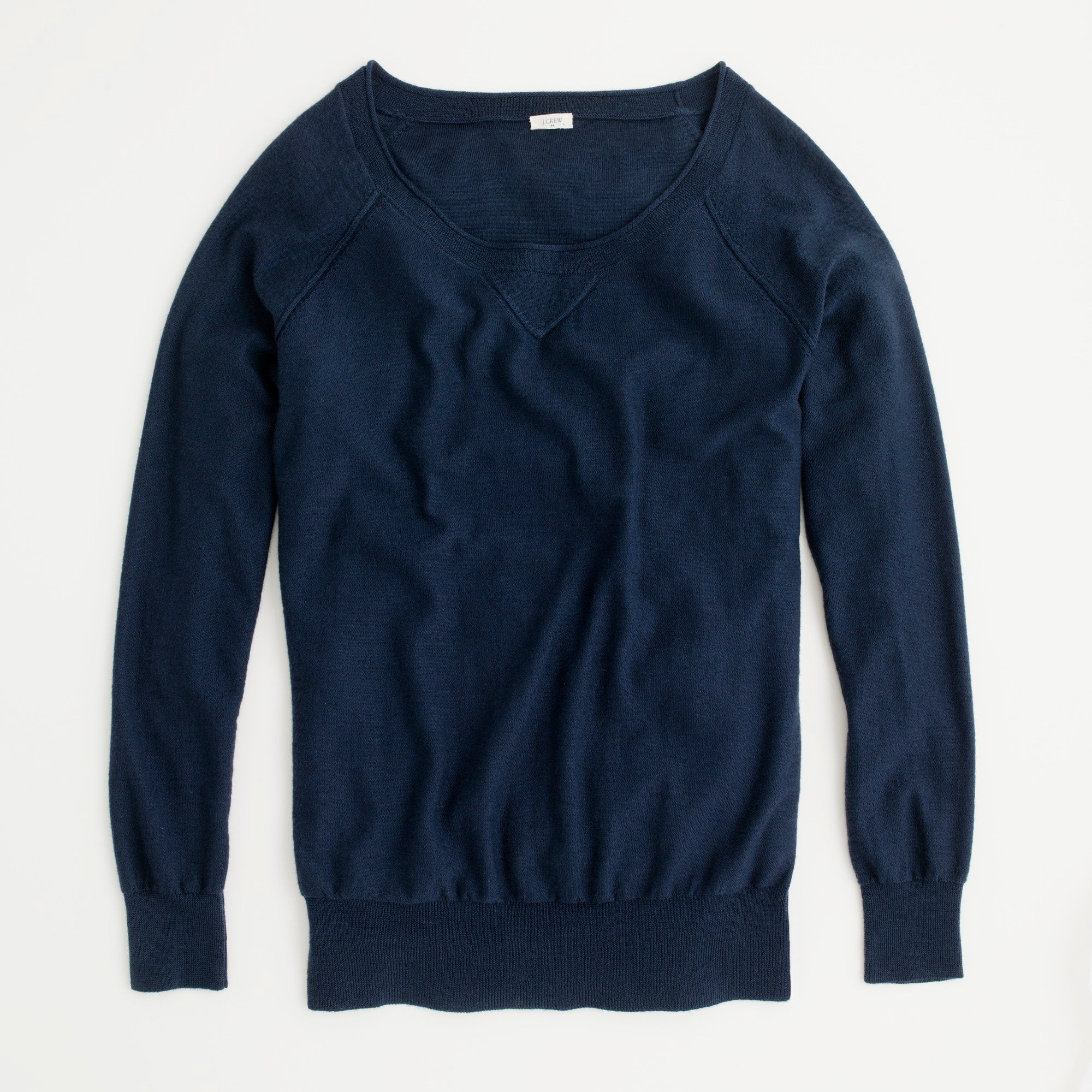 Image 1 for Factory merino boyfriend sweatshirt