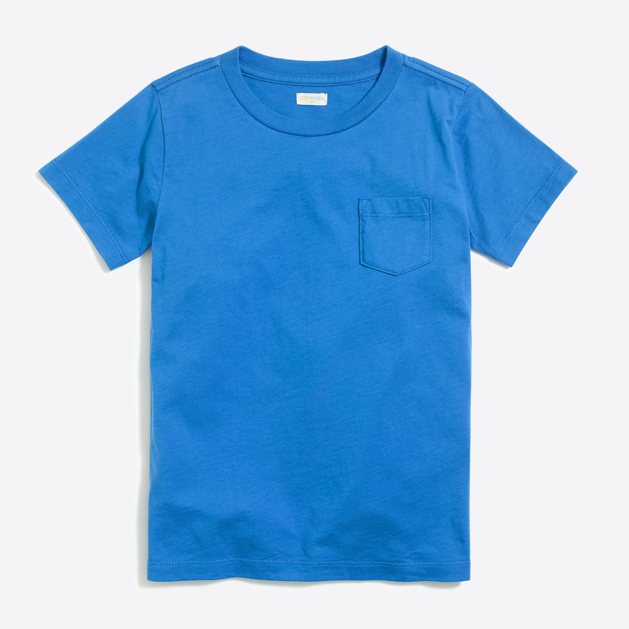 Boys' short-sleeve jersey pocket T-shirt factoryboys knits & t-shirts c