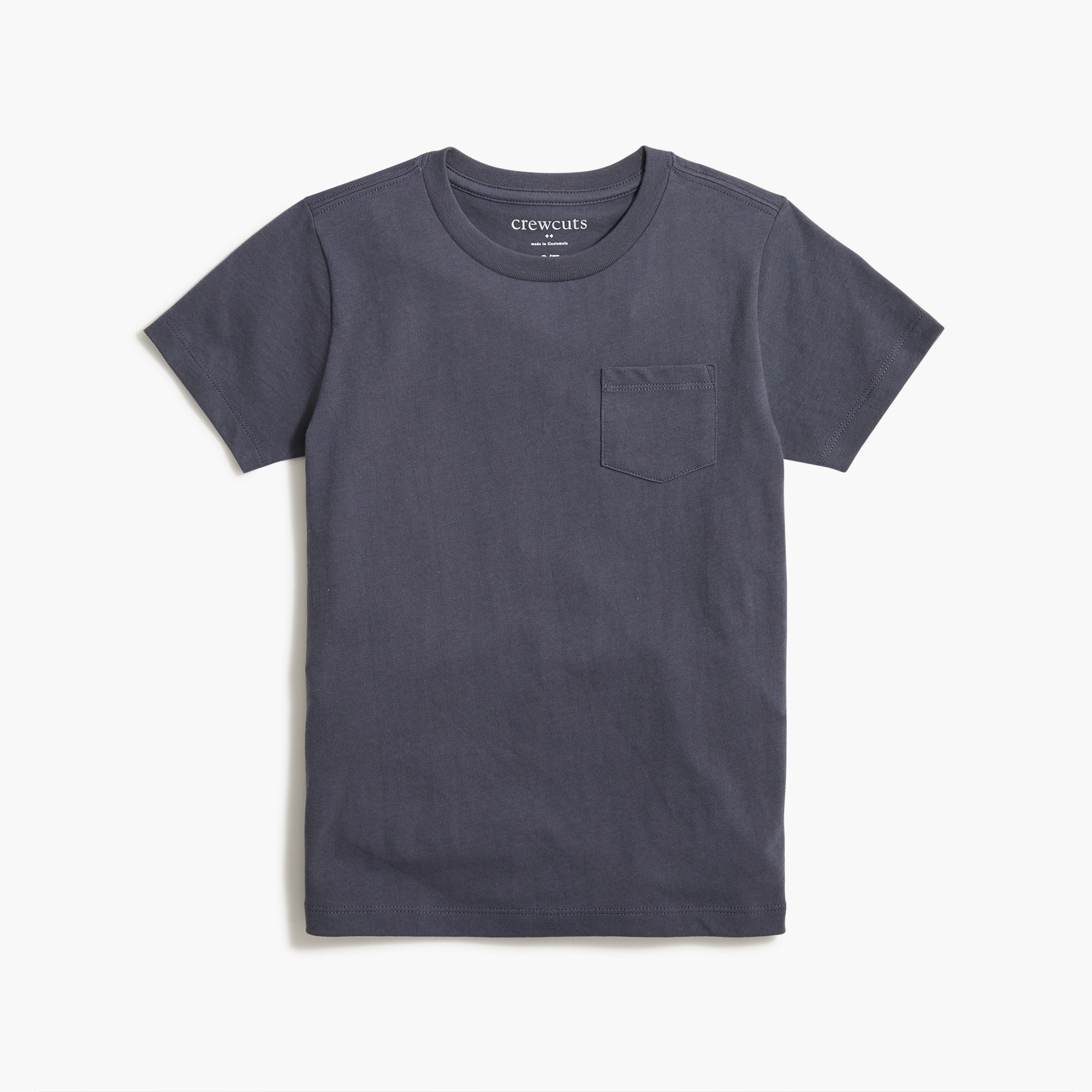 Kids' short-sleeve jersey pocket T-shirt