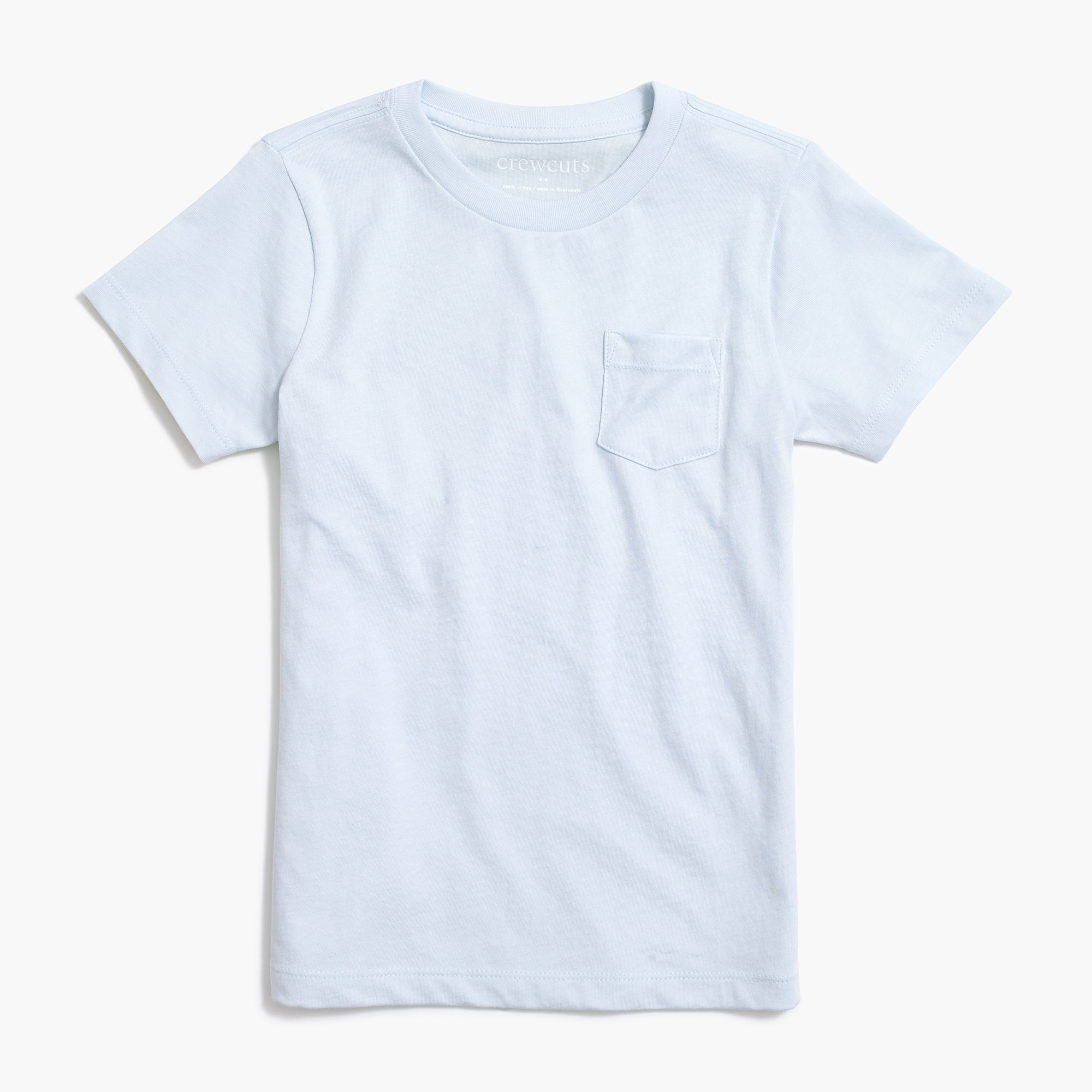 Image 1 for Kids' short-sleeve jersey pocket T-shirt