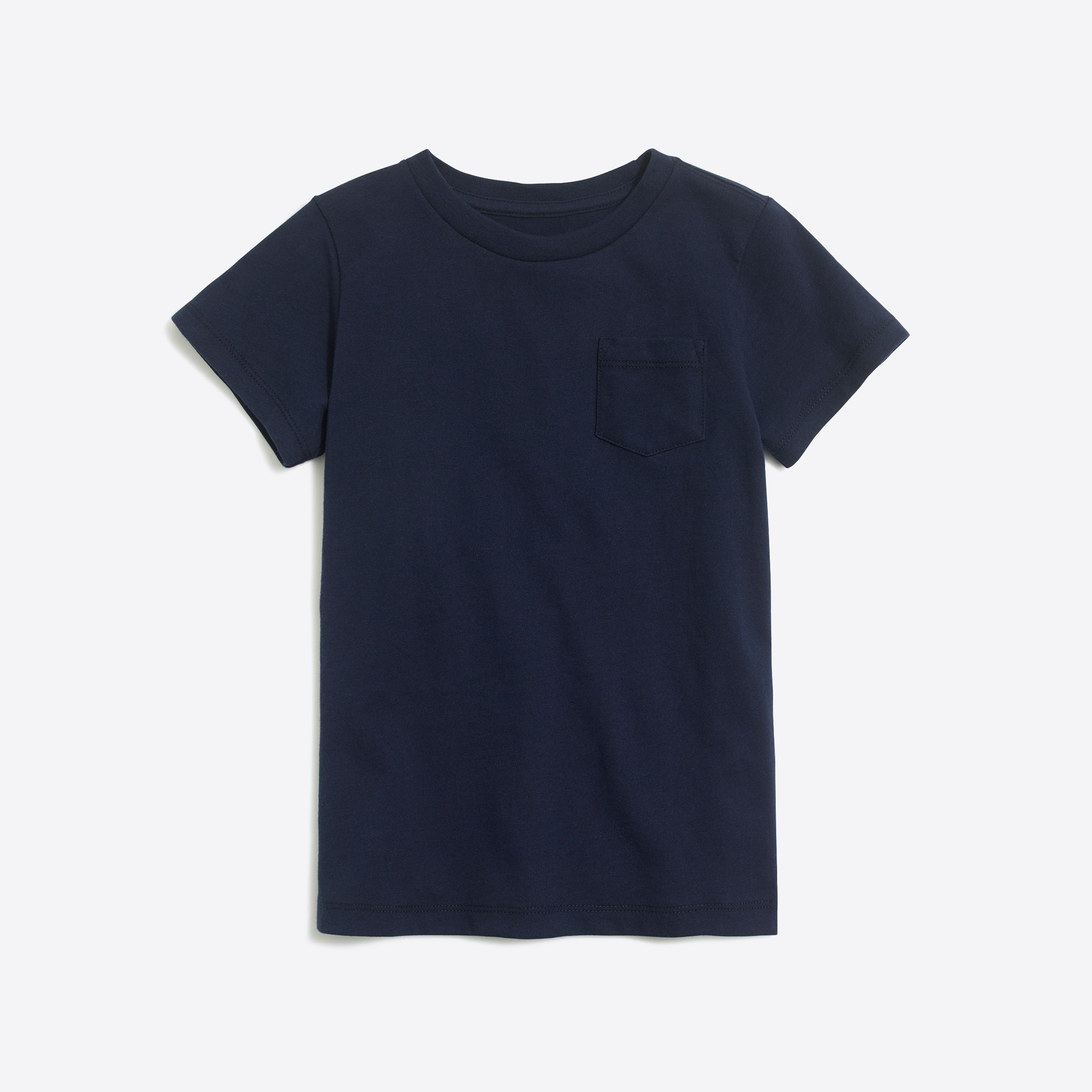 Boys' short-sleeve jersey pocket T-shirt factoryboys the camp shop c