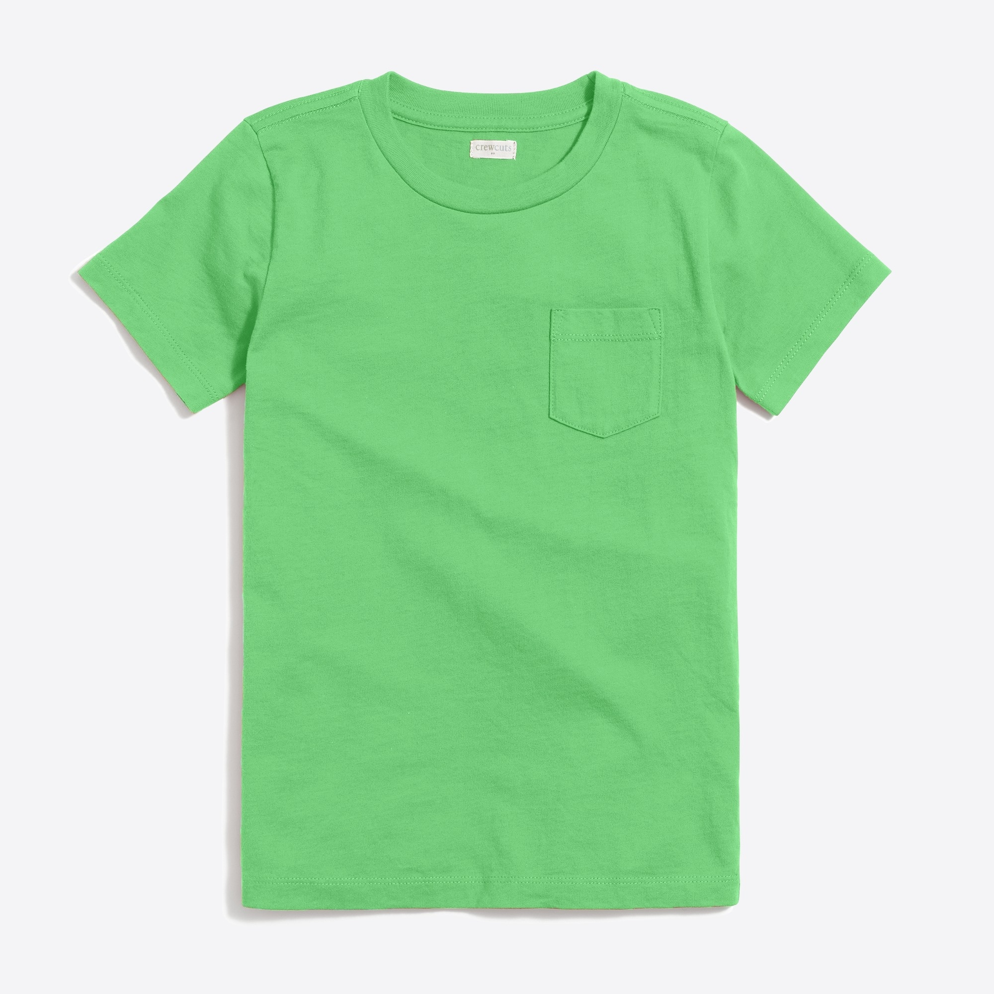 Boys' short-sleeve jersey pocket T-shirt factoryboys online exclusives c