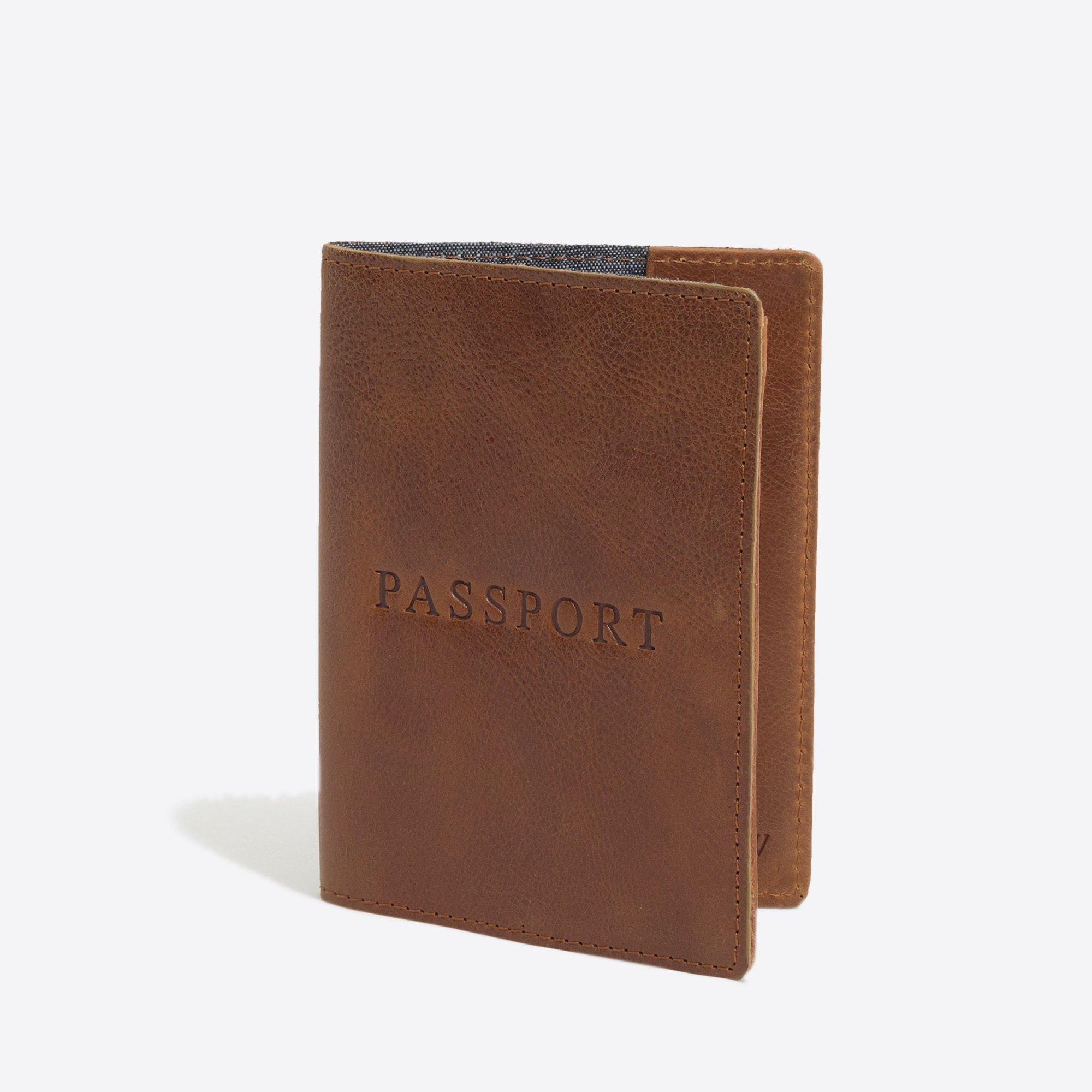 factory mens Leather passport case