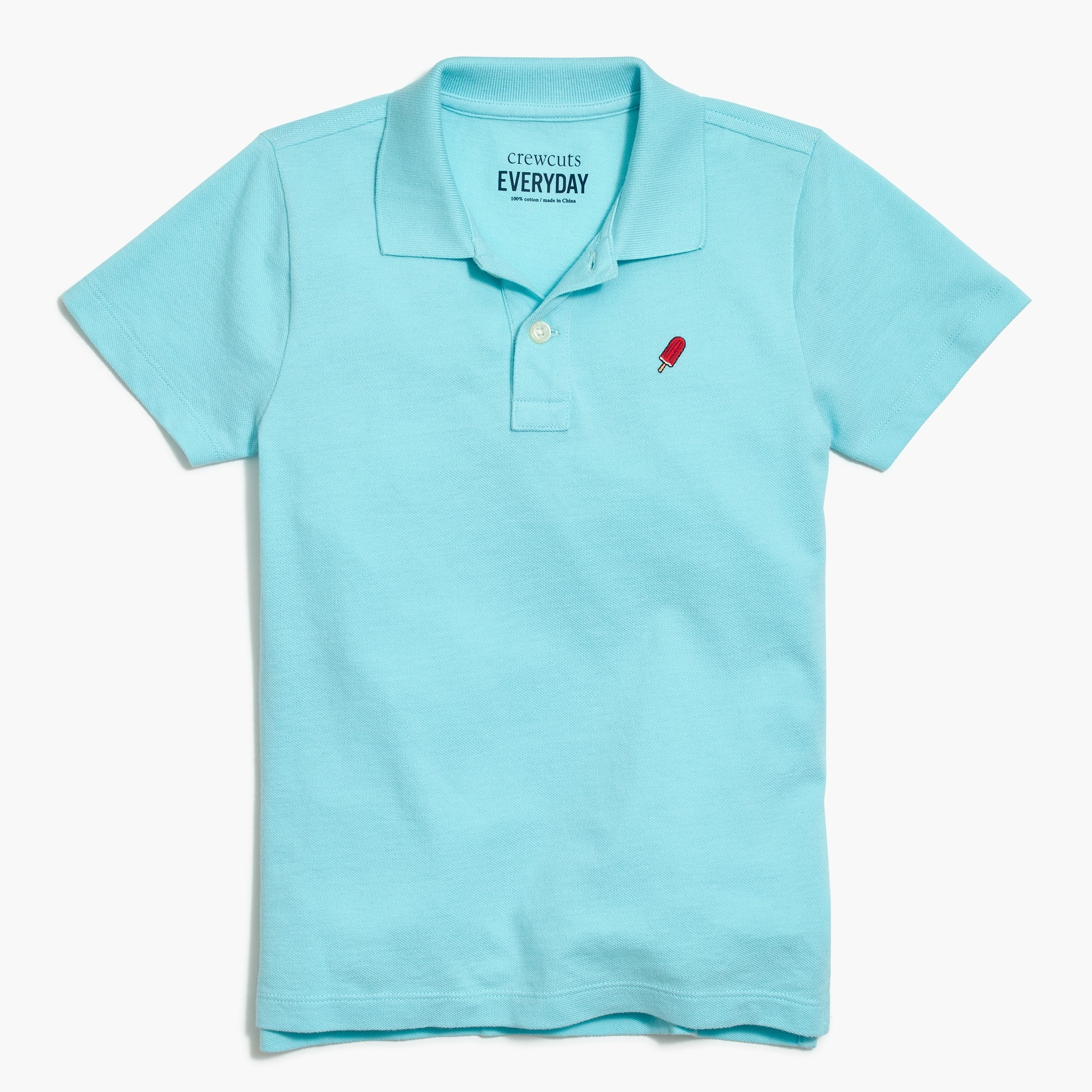 factory boys Boys' critter piqué polo shirt