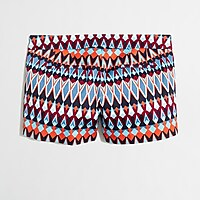 """Image 2 for 3"""" printed stretch chino short"""