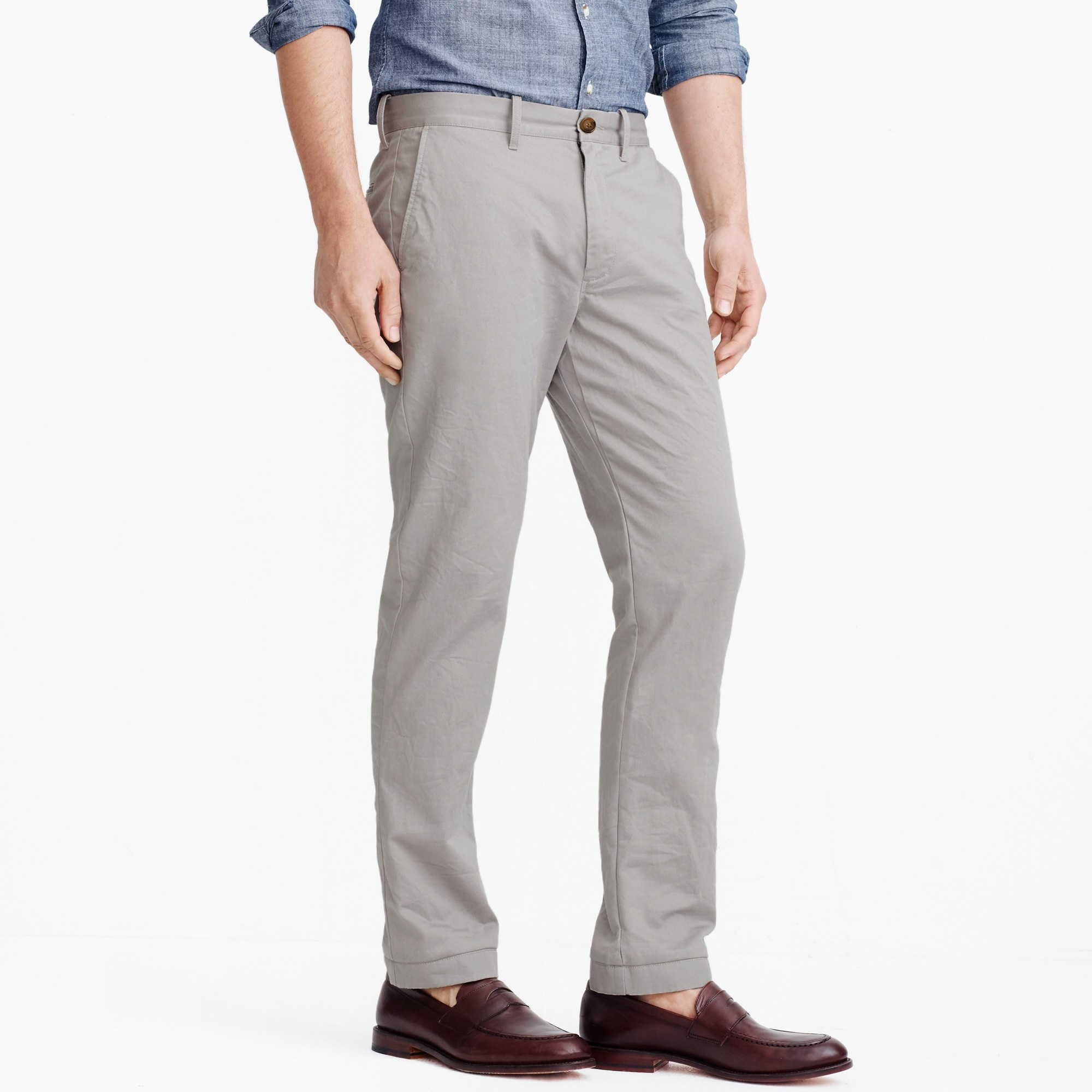 Image 2 for Straight-fit broken-in chino