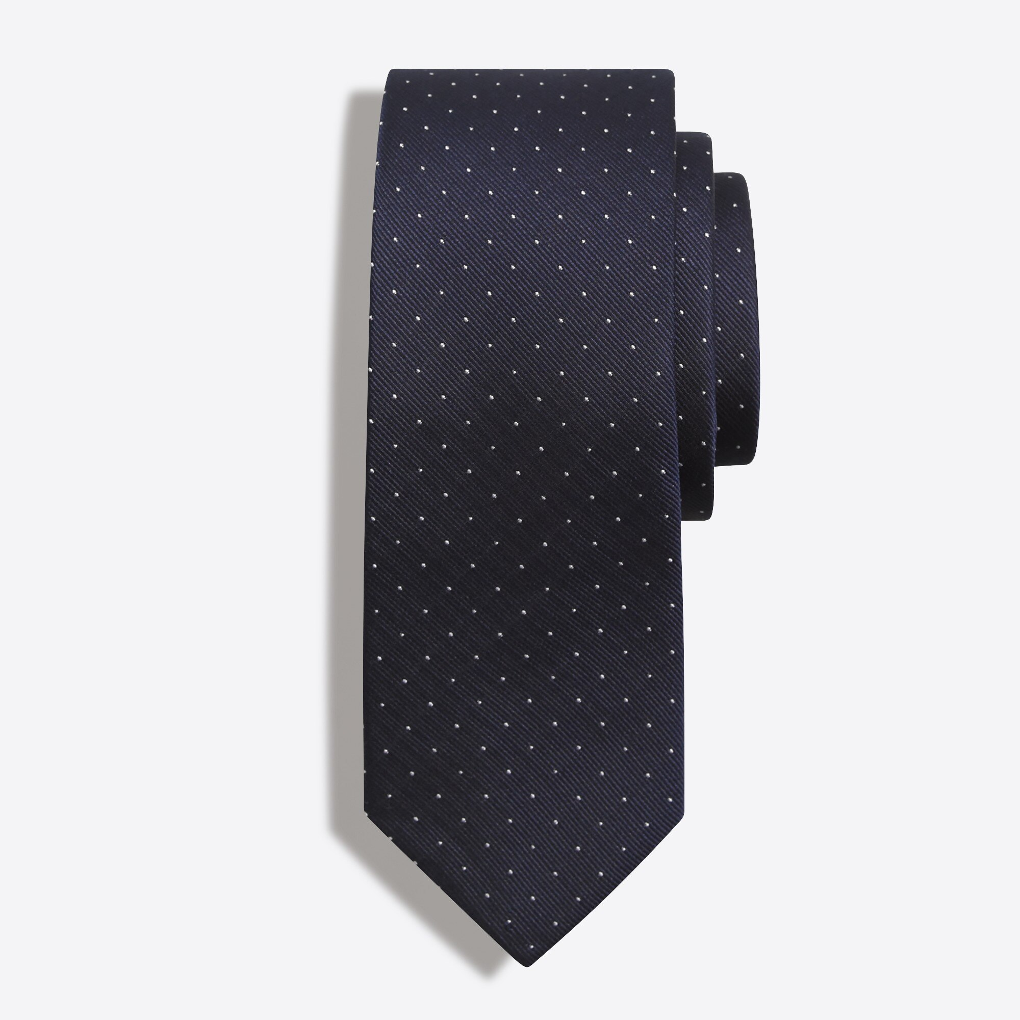 Image 1 for Silk pindot tie