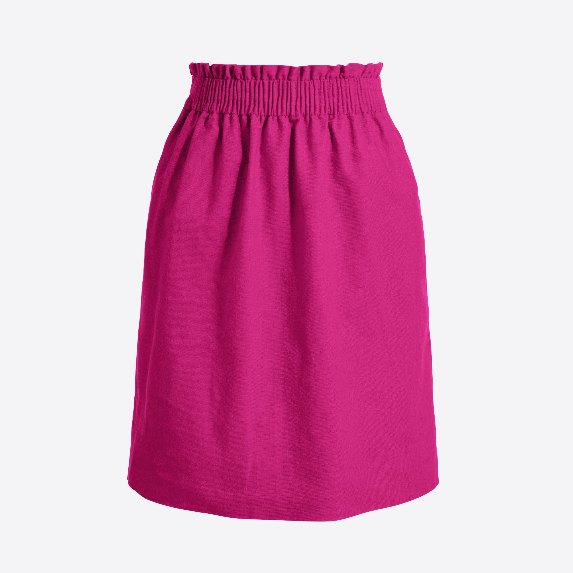 Image 1 for Linen-cotton sidewalk mini skirt