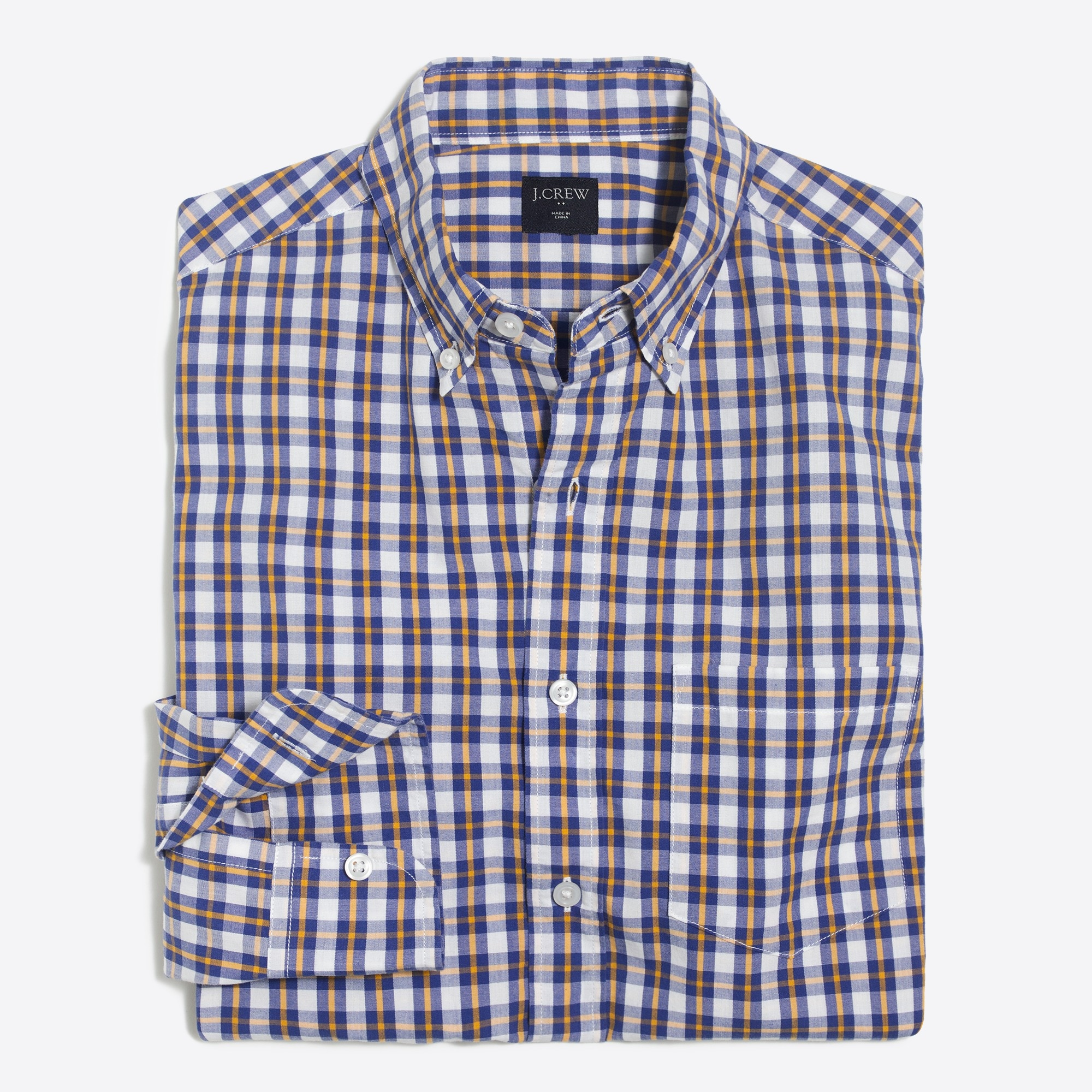 Image 2 for Washed shirt in medium plaid