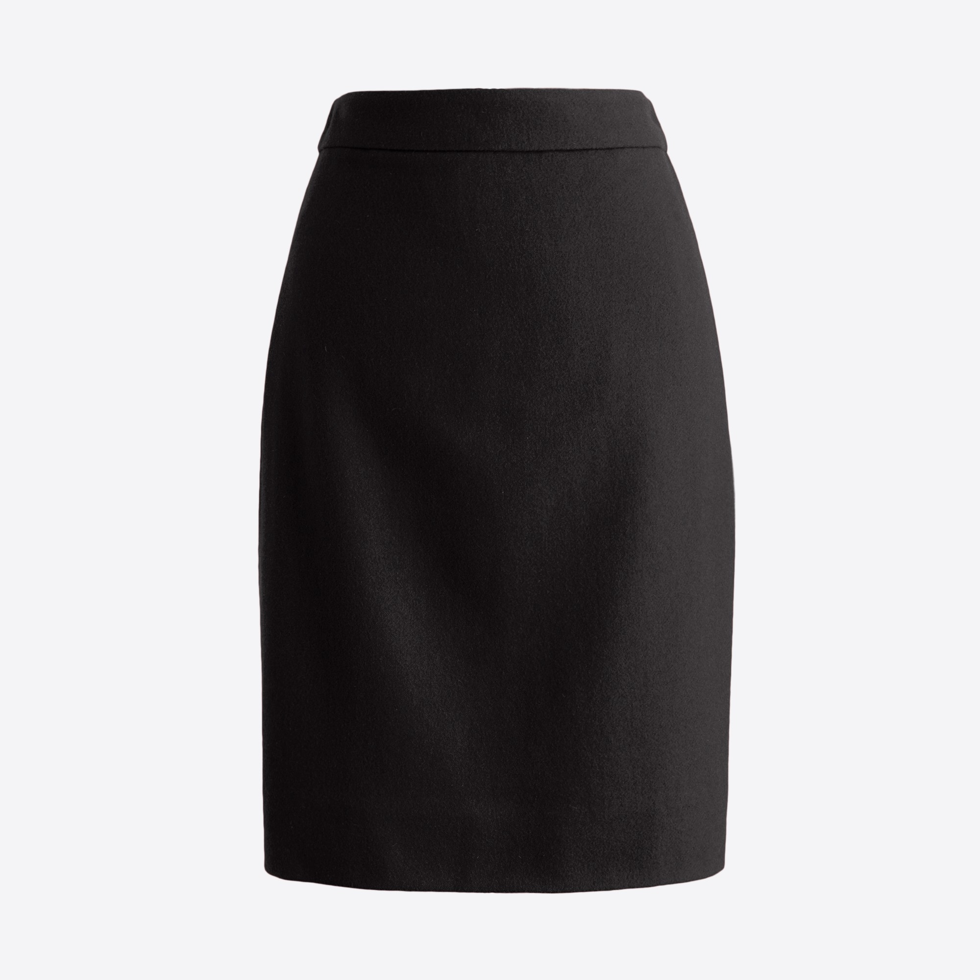 Image 2 for Pencil skirt in double-serge wool