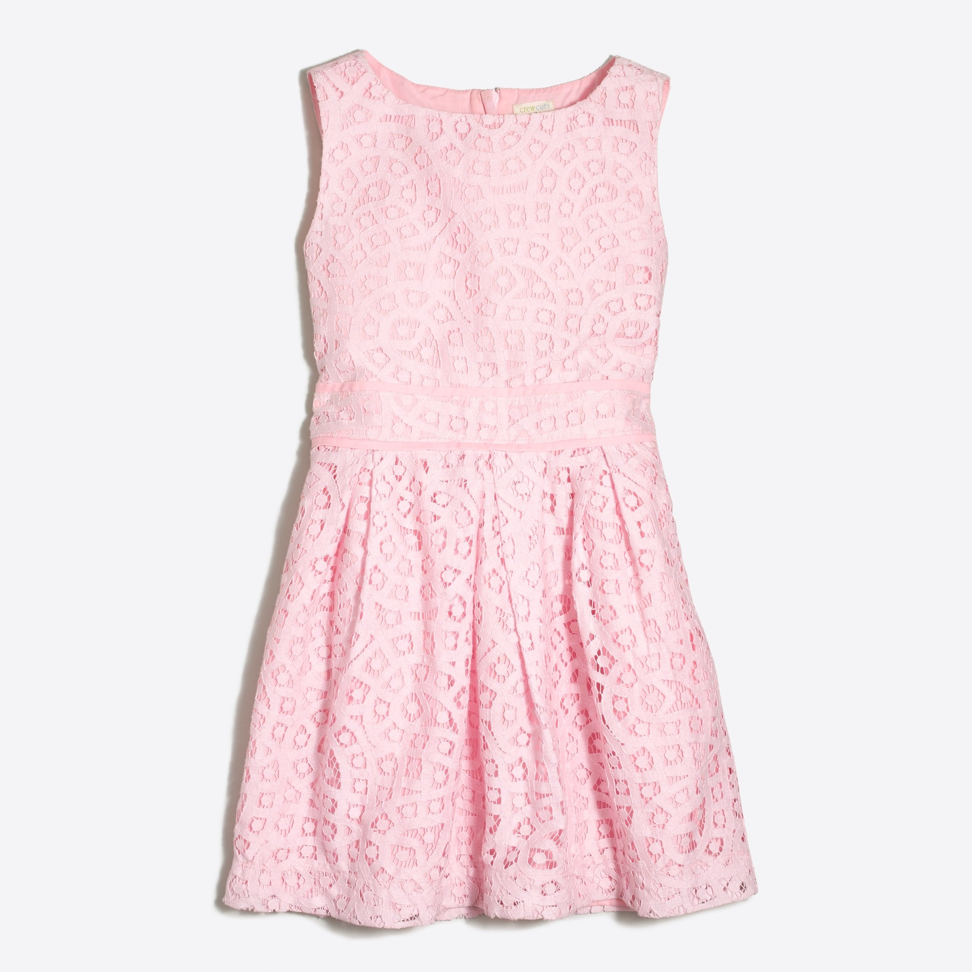 factory girls' pleated lace party dress : girls' dresses