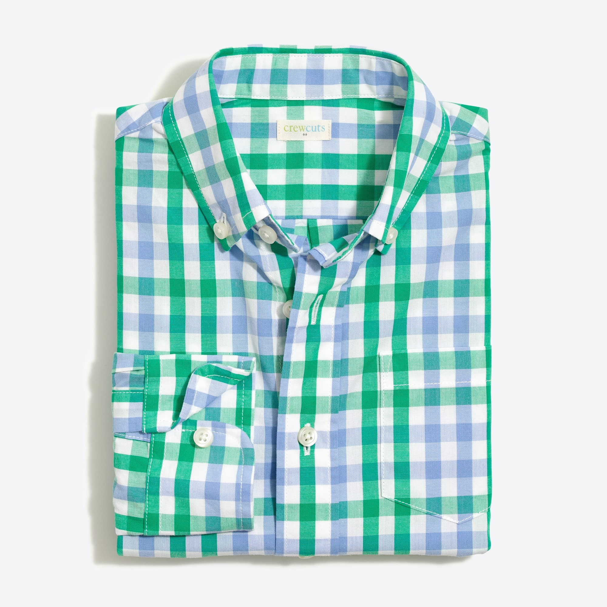 Image 2 for Boys' patterned washed shirt
