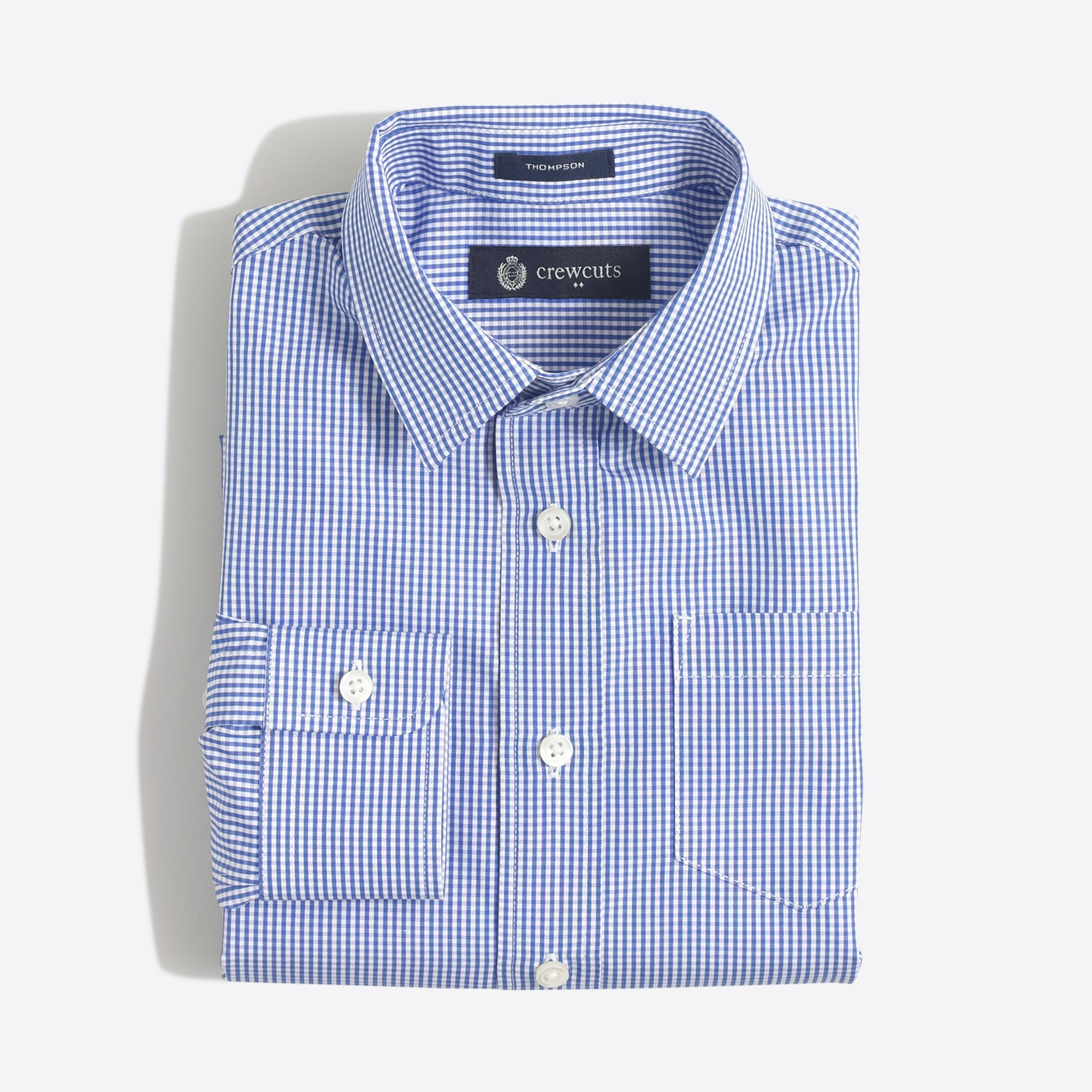 factory boys Boys' patterned Thompson point-collar dress shirt