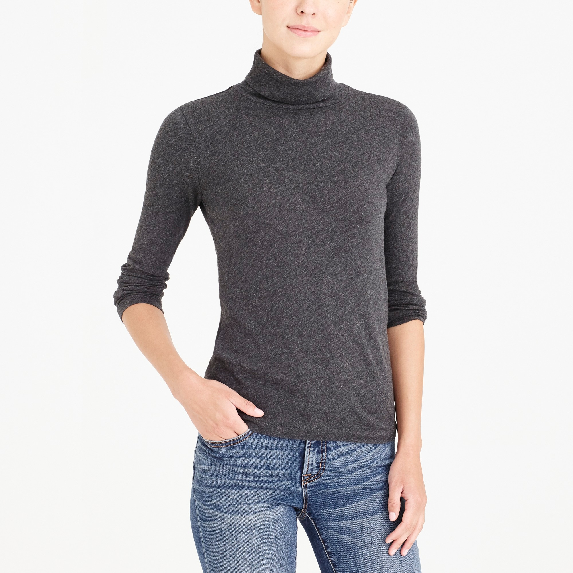factory womens Tissue turtleneck