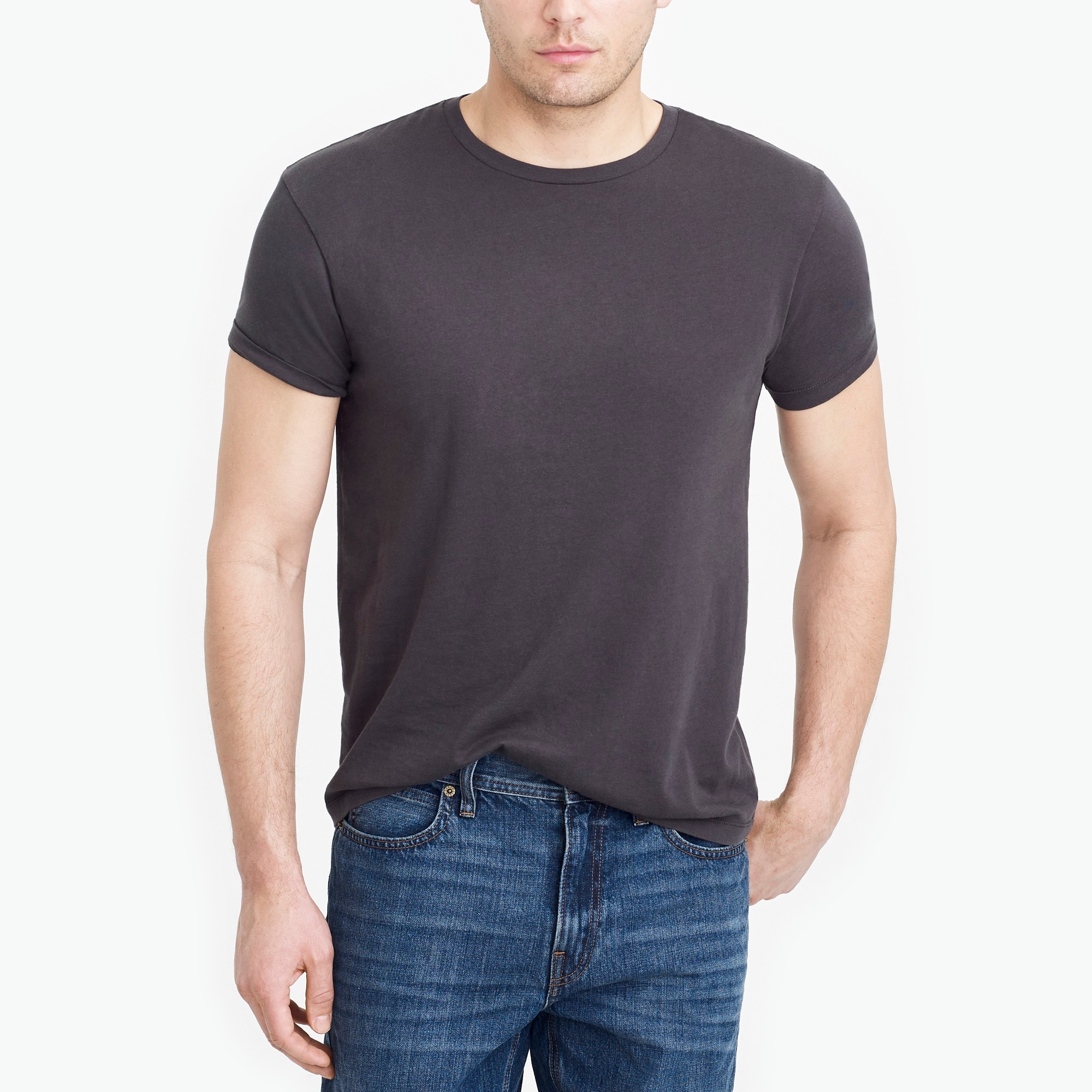 factory mens J.Crew Mercantile slim Broken-in T-shirt