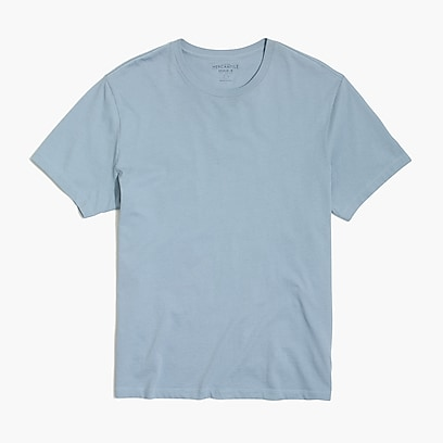 factory mens Washed jersey T-shirt