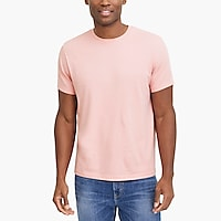 Slim washed jersey T-shirt