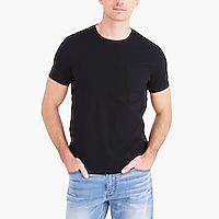 Image 1 for Slim washed jersey pocket T-shirt
