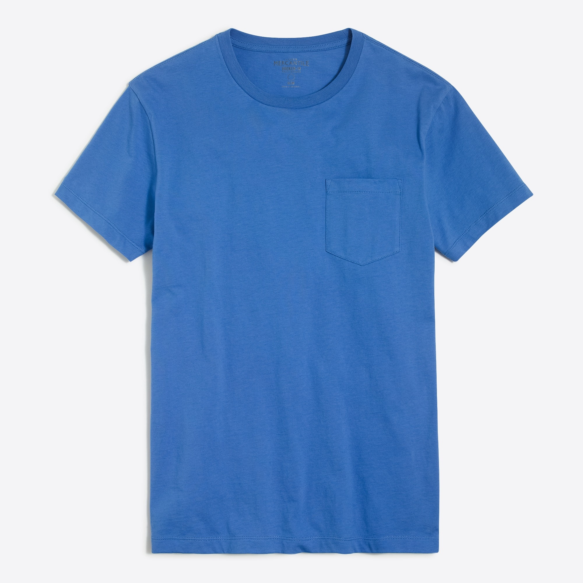 Image 2 for J.Crew Mercantile slim Broken-in pocket T-shirt