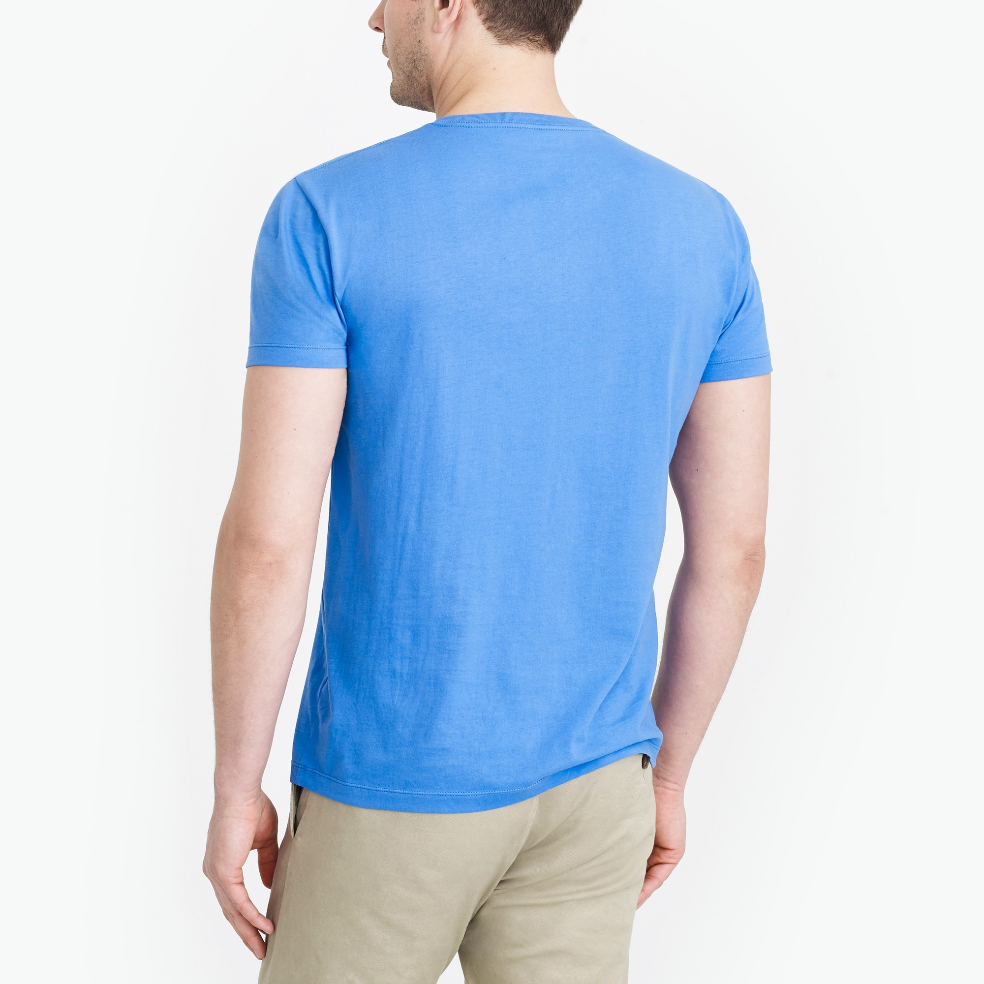 Image 3 for J.Crew Mercantile slim Broken-in pocket T-shirt