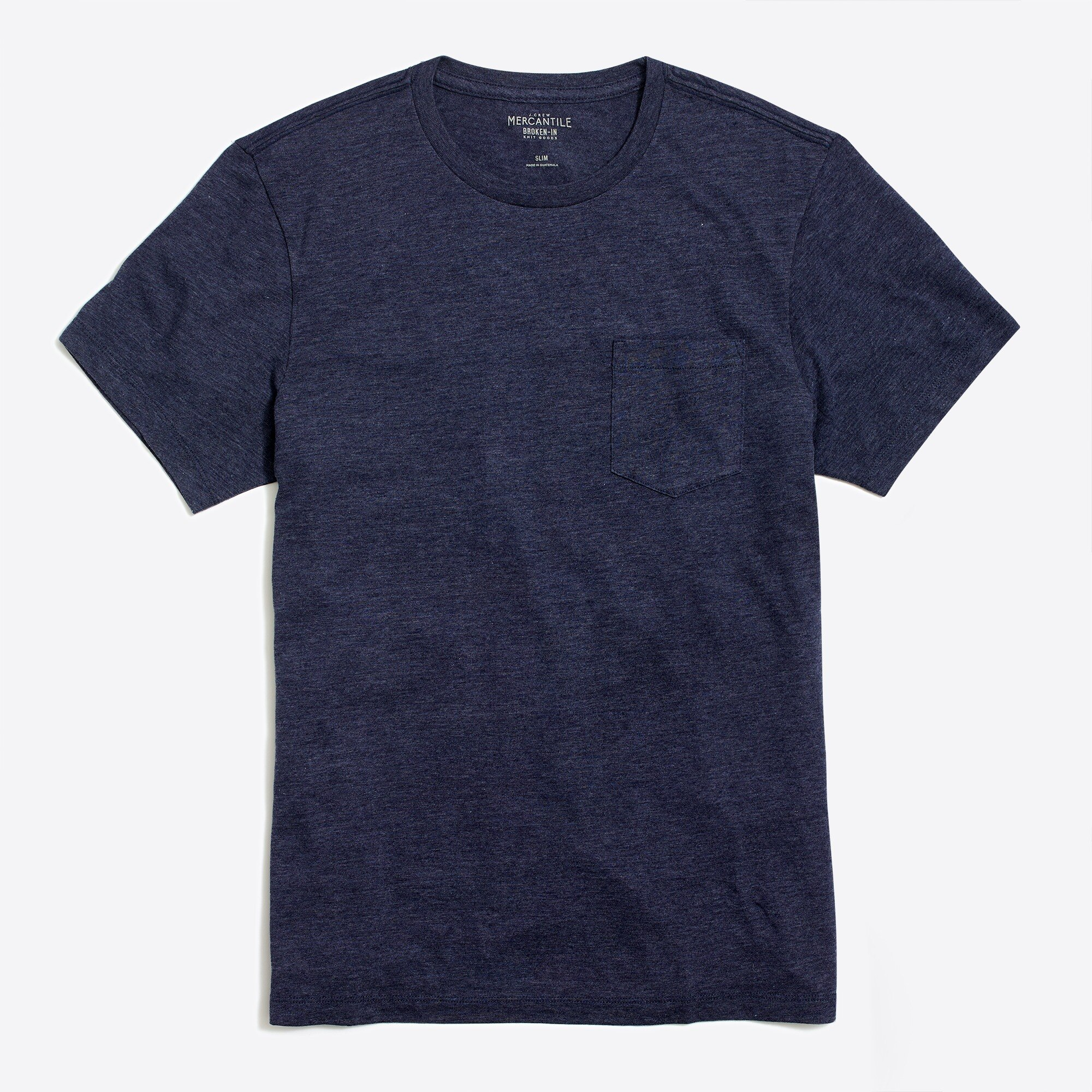 J.Crew Mercantile slim heathered washed pocket T-shirt factorymen t-shirts & henleys c