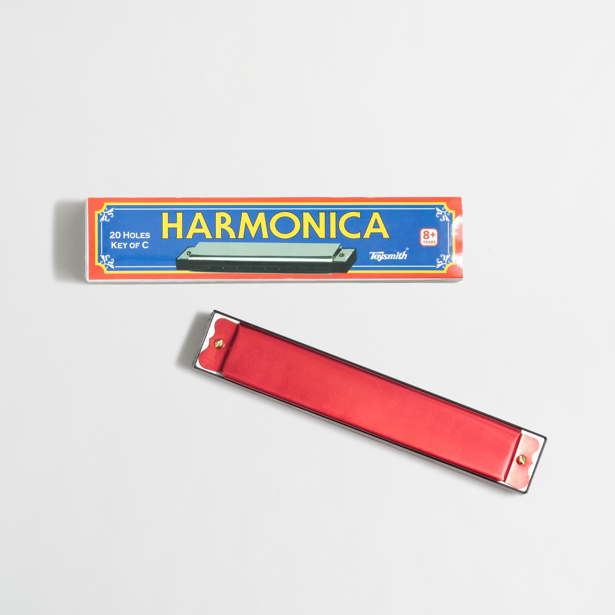Image 1 for Kids' Toysmith™ hole metal harmonica
