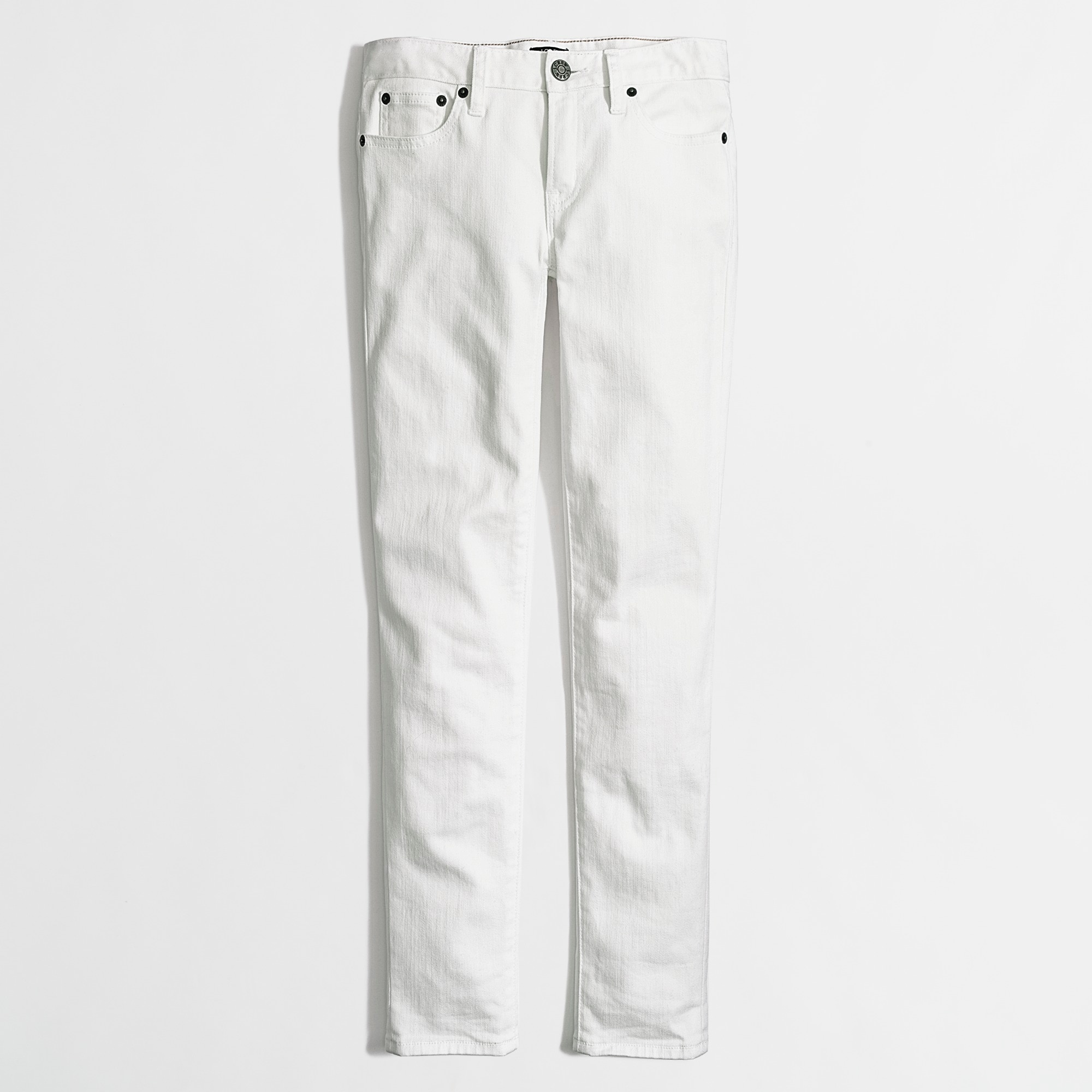 "Image 1 for White skinny ankle jean with 28"" inseam"