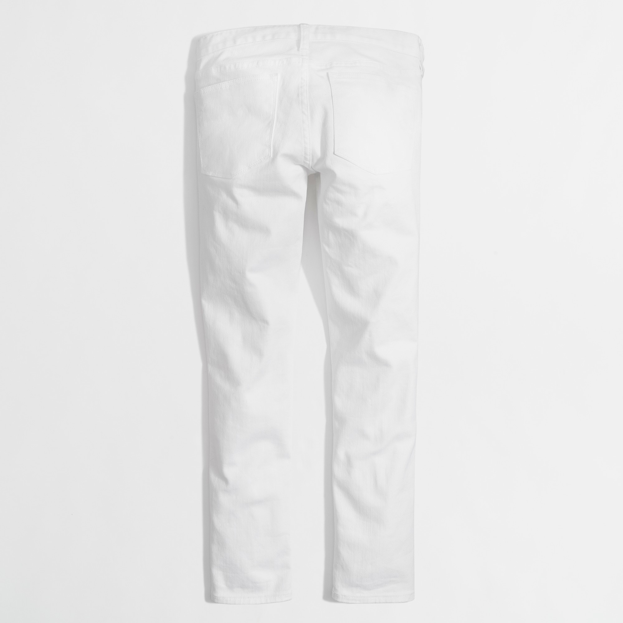 "Image 2 for White skinny ankle jean with 28"" inseam"