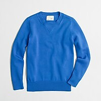 Image 1 for Boys' cotton sweatshirt sweater