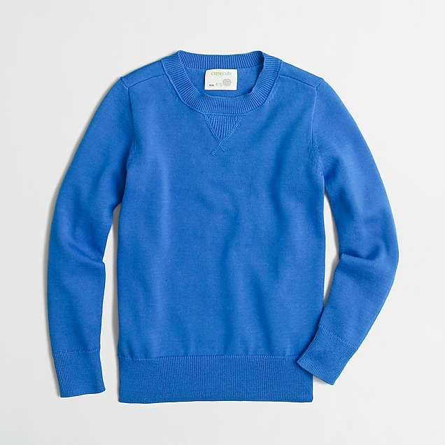 j.crew factory: boys' cotton sweatshirt sweater