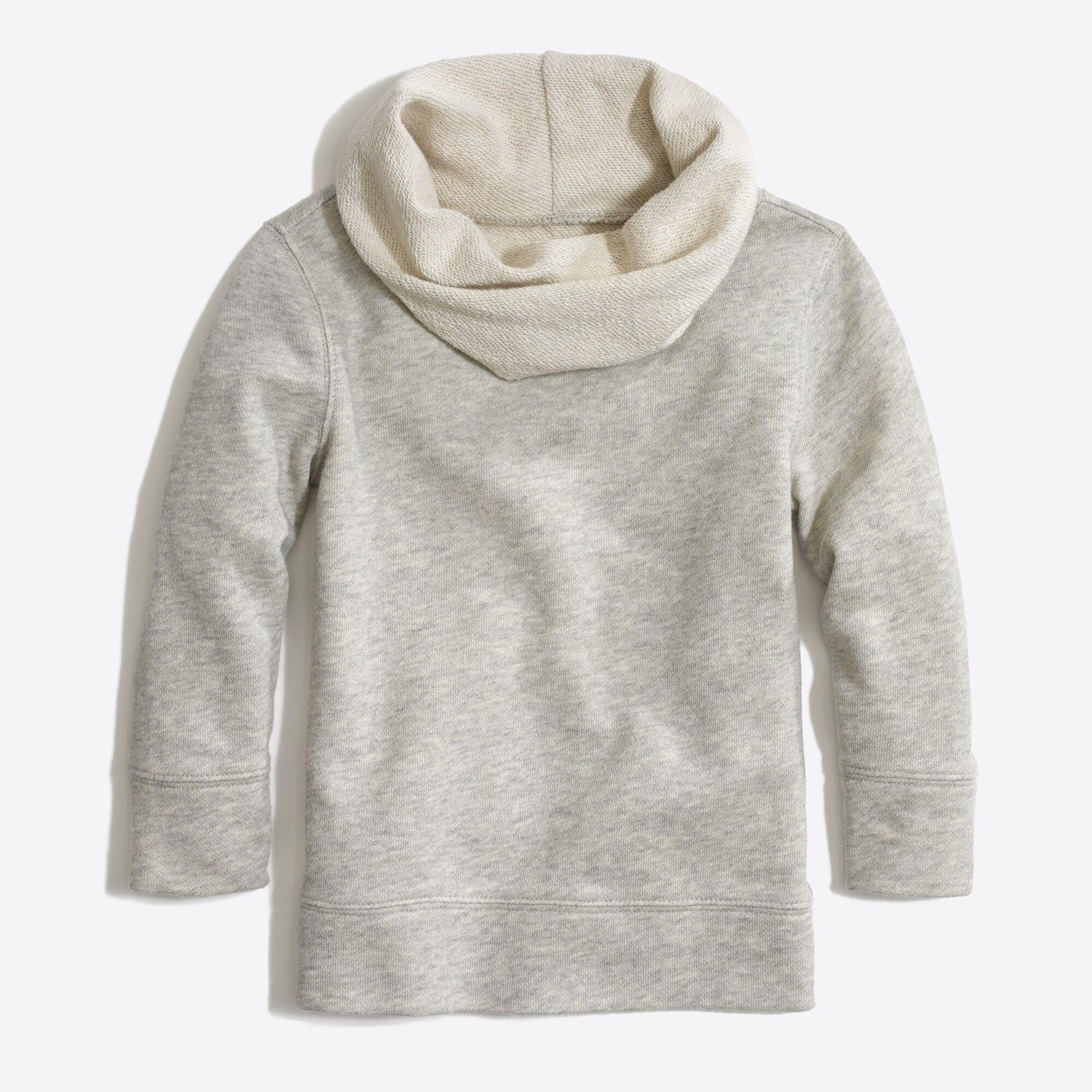 factory girls Girls' cowlneck sweatshirt