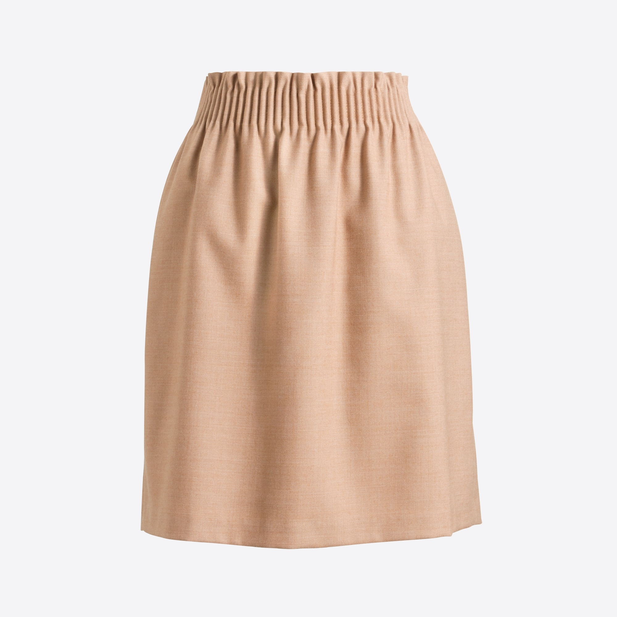 women's wool sidewalk skirt - women's skirts