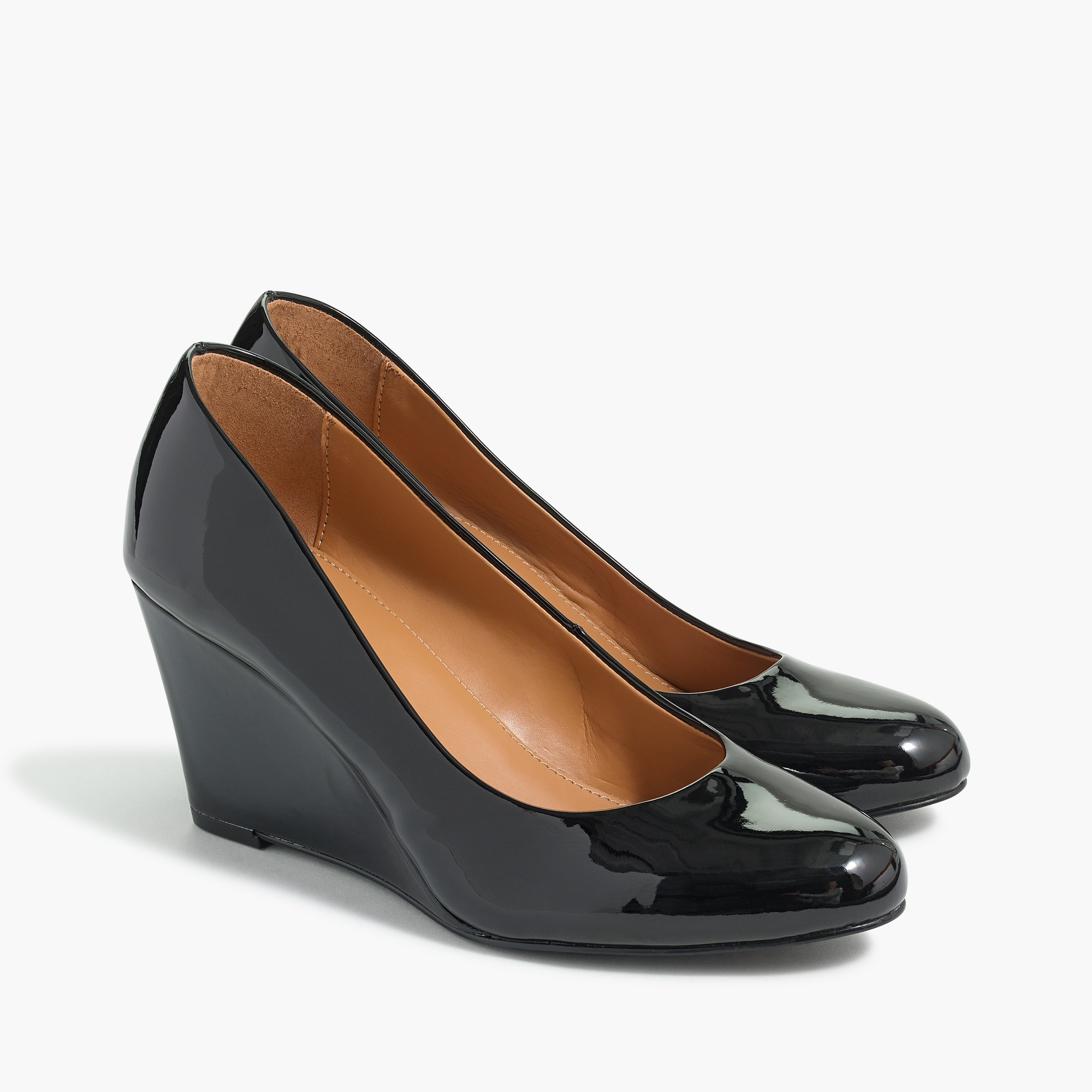 women's sylvia patent wedges - women's footwear