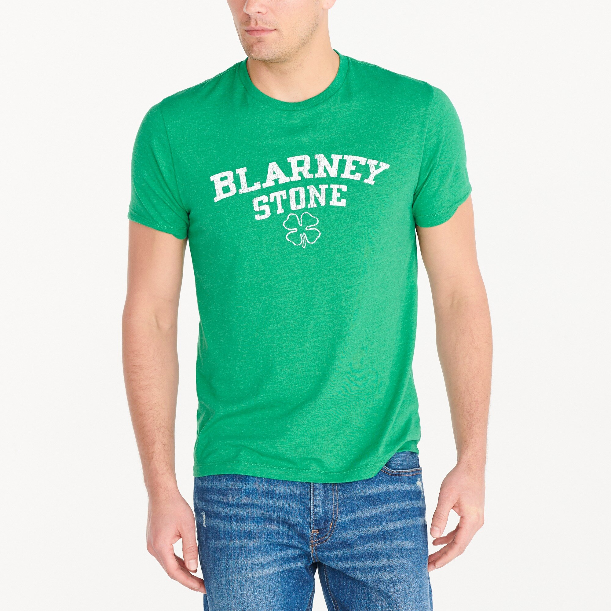 blarney stone graphic t-shirt : factorymen stripes & graphics