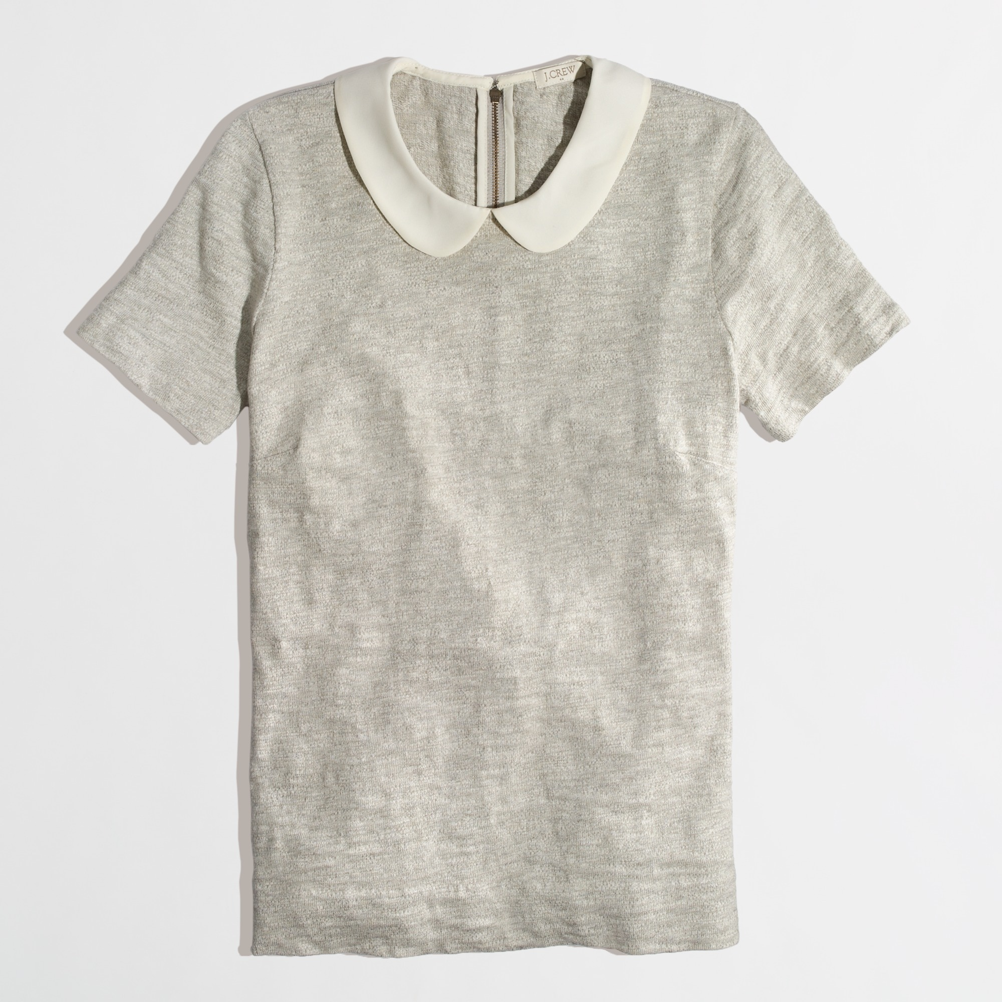 factory peter pan collar tee :