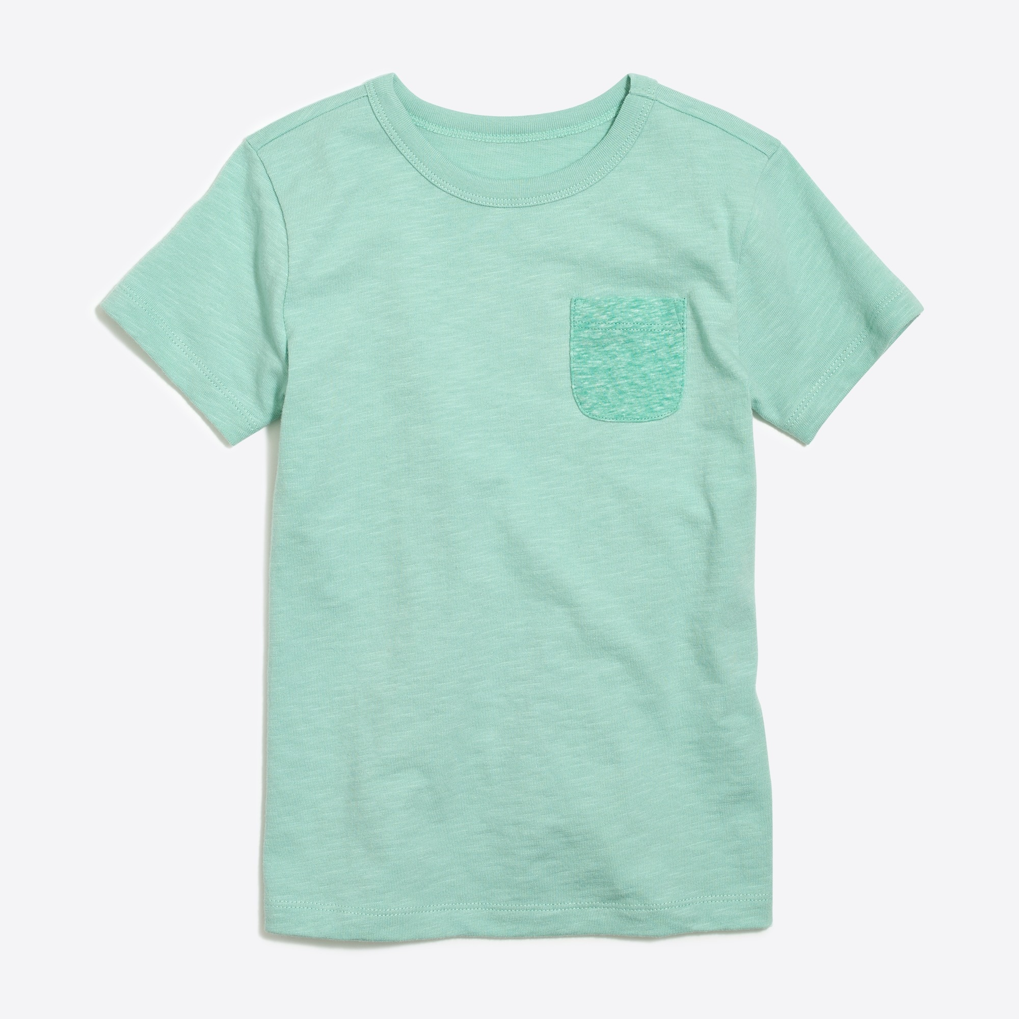 Boys' contrast-pocket t-SHIRT factoryboys the camp shop c
