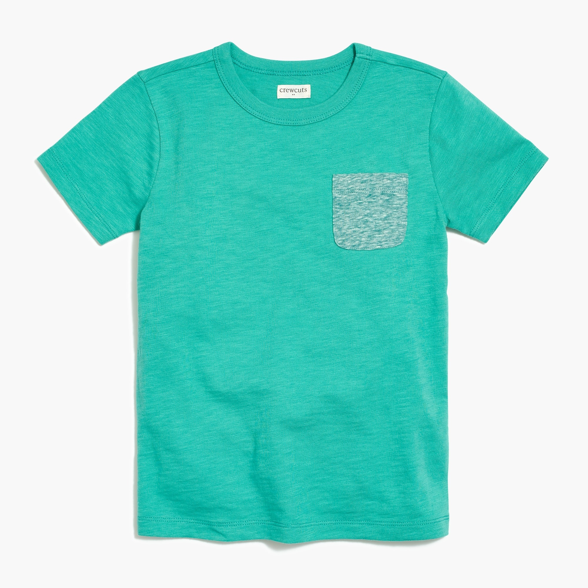 factory boys Boys' contrast-pocket t-SHIRT