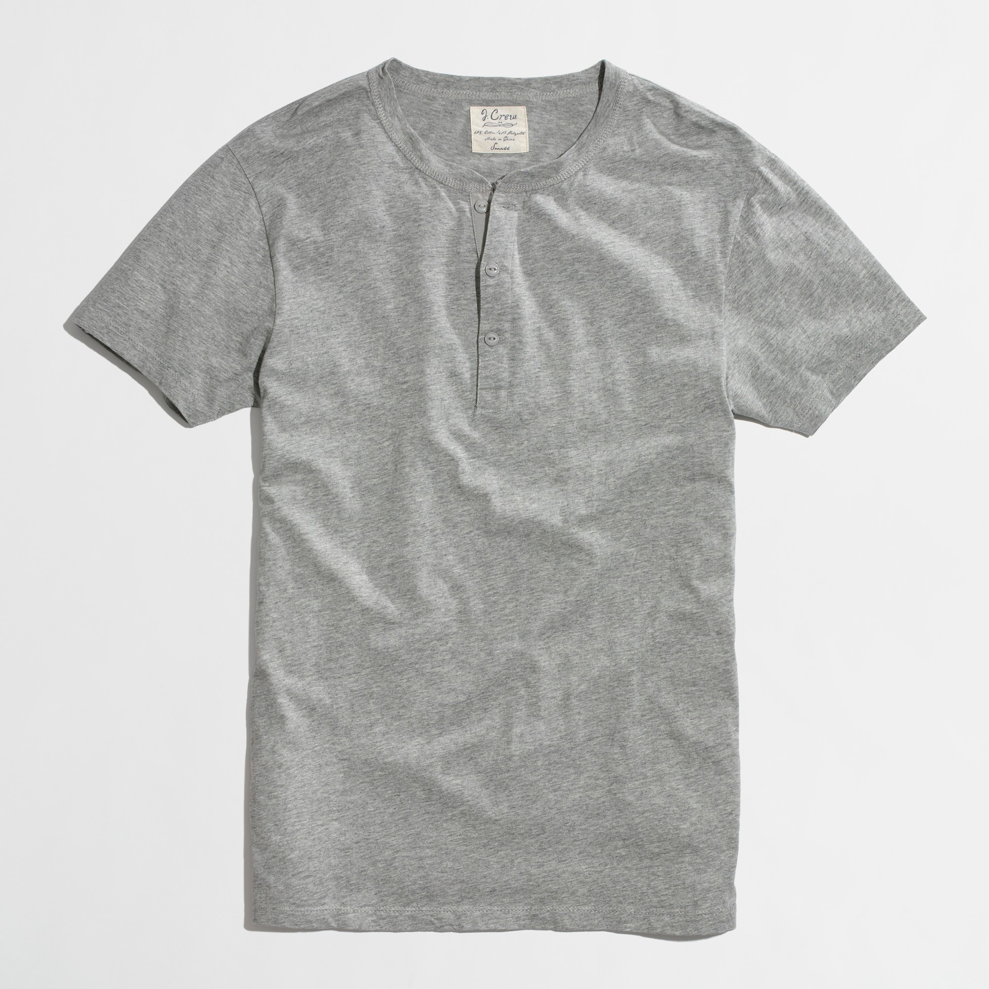 Slim short-sleeve henley factorymen t-shirts & henleys c