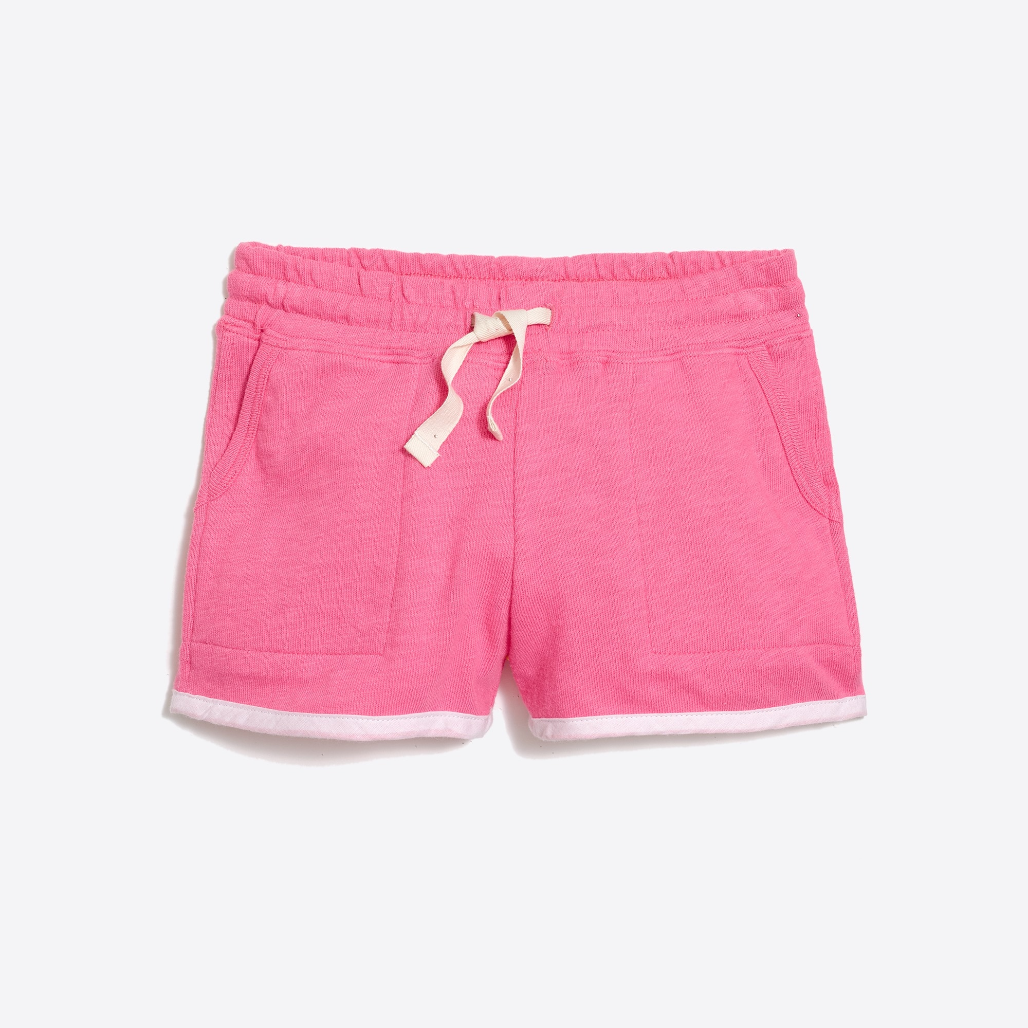 girls' pull-on short with pockets : factorygirls shorts & rompers